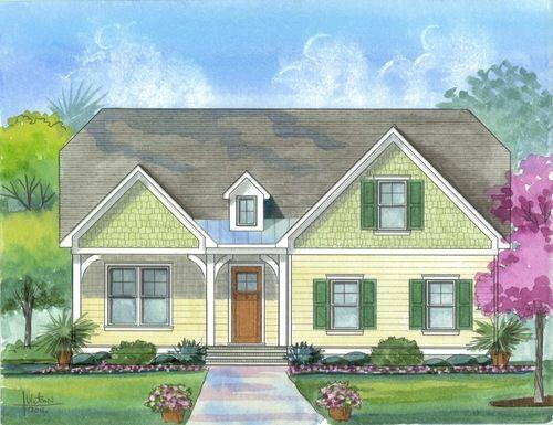 Single Family for Sale at River Bluffs - The Alamanda 3571 Hansa Dr Castle Hayne, North Carolina 28429 United States