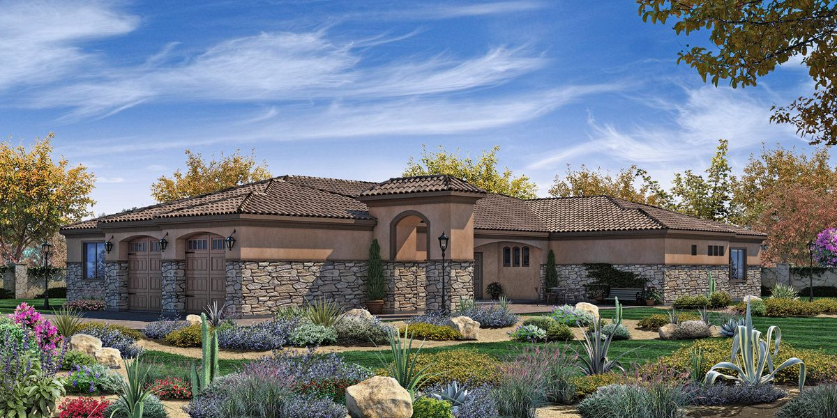 Single Family for Sale at Trevi Hills Vineyards & Homes - Plan 6 13010 Muth Valley Road Lakeside, California 92040 United States