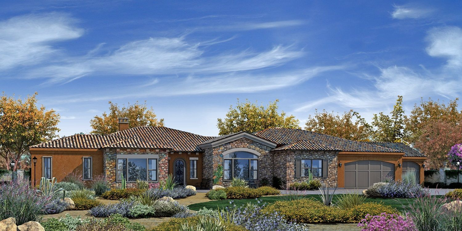 Single Family for Sale at Trevi Hills Vineyards & Homes - Plan 1 13010 Muth Valley Road Lakeside, California 92040 United States