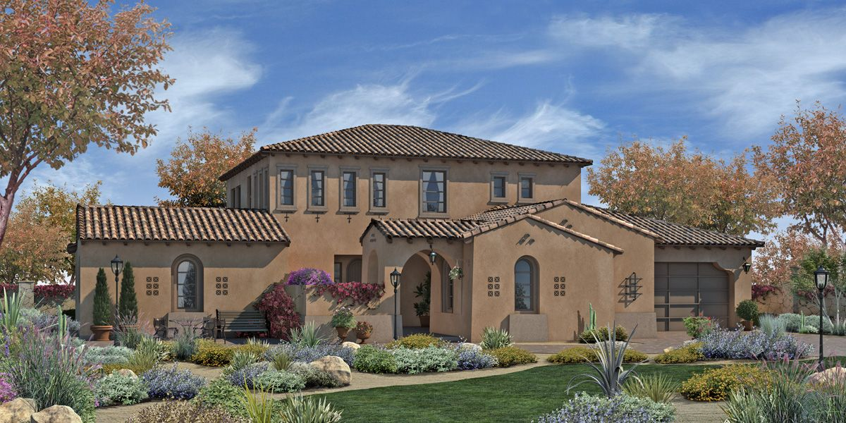 Single Family for Sale at Trevi Hills Vineyards & Homes - Plan 3 13010 Muth Valley Road Lakeside, California 92040 United States