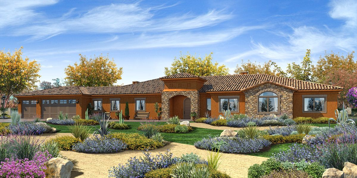 Single Family for Sale at Trevi Hills Vineyards & Homes - Plan 8a 13010 Muth Valley Road Lakeside, California 92040 United States
