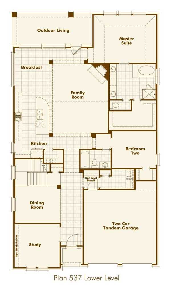 plan 537 by highland homes long meadow farms