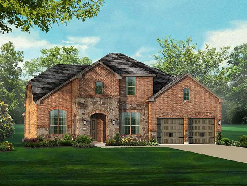 Single Family for Sale at Plan 236 32152 Mustang Hill Bulverde, Texas 78163 United States