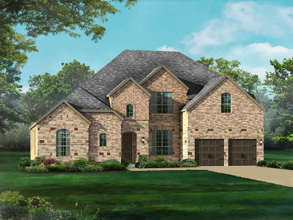 Single Family for Sale at Overlook At Stonewall Estates - Plan 296 8118 Juliet Hill San Antonio, Texas 78256 United States