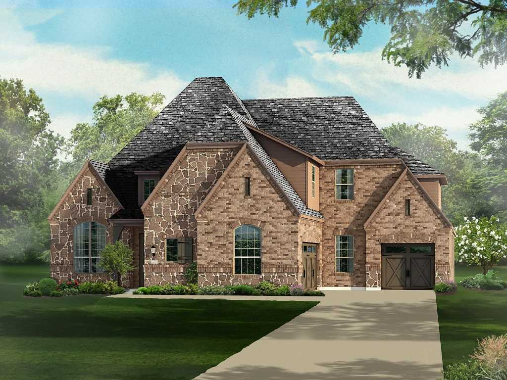 Single Family for Sale at Overlook At Stonewall Estates - Plan 615 8118 Juliet Hill San Antonio, Texas 78256 United States