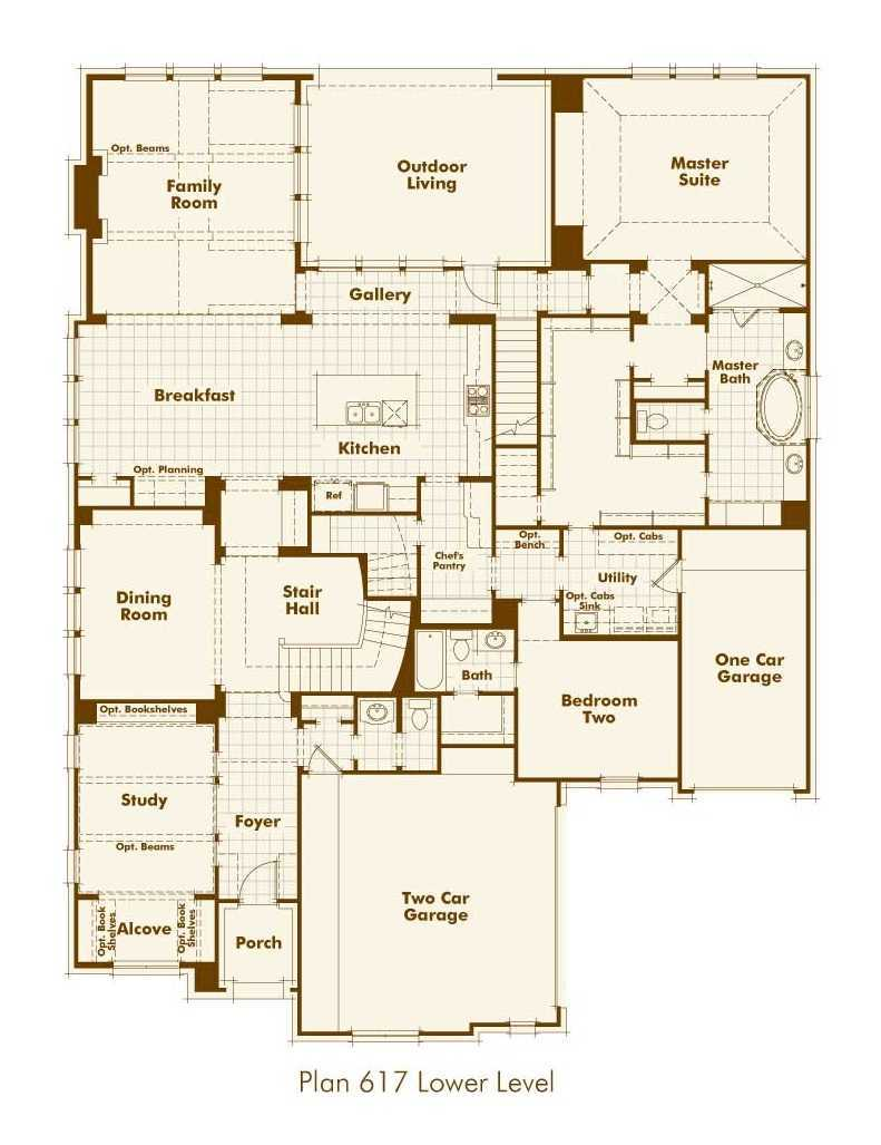 Highland homes reagan 39 s overlook plan 293 1329158 for Austin house plans