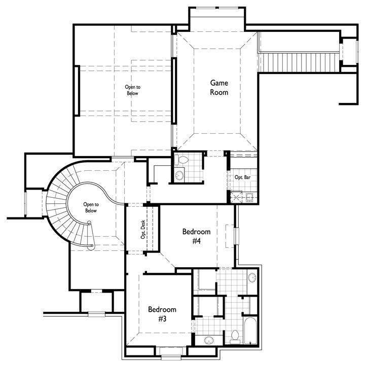 Additional photo for property listing at Regency Park - Plan 6781 4012 Baldomera Street Flower Mound, Texas 75022 United States