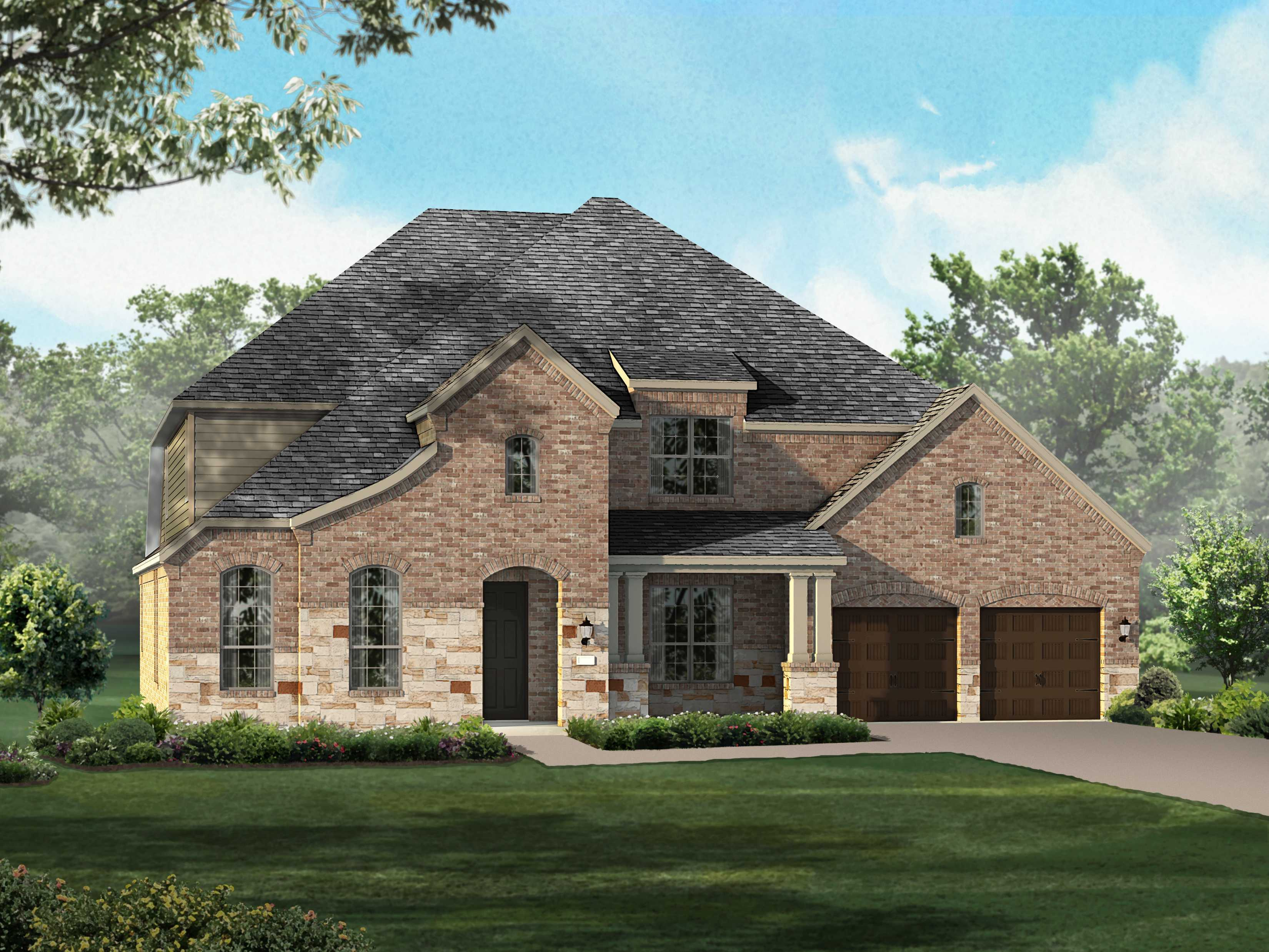 Single Family for Sale at Plan 264 9912 Peninsula Point Oak Point, Texas 75068 United States