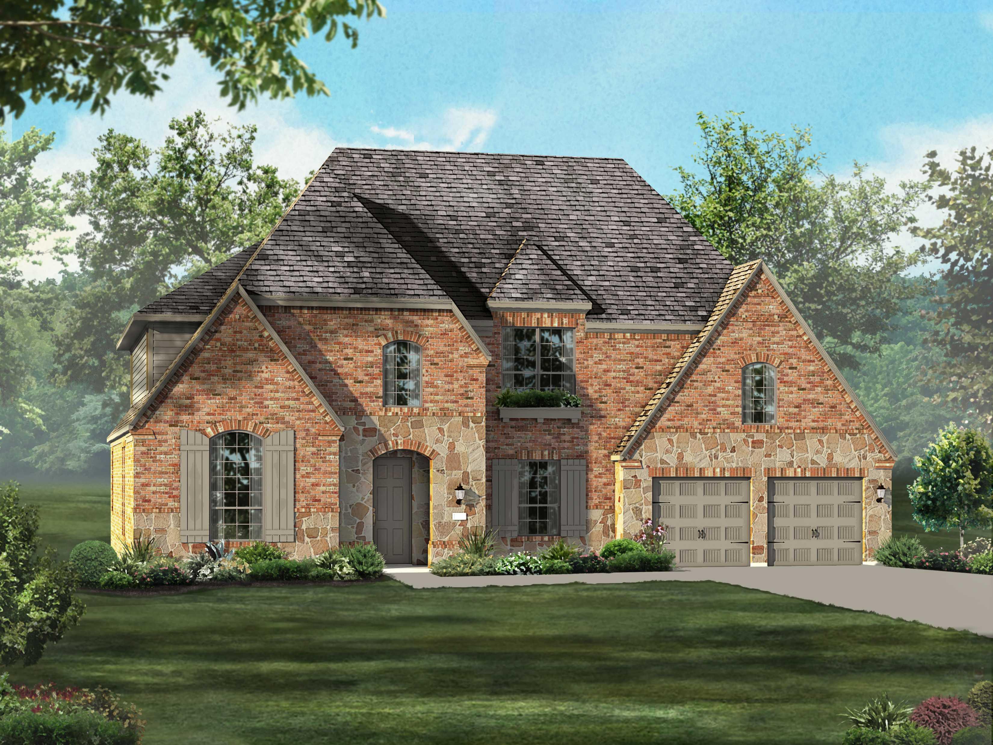 highland homes windsong ranch 75s plan 264 1329632 prosper tx new home for sale homegain