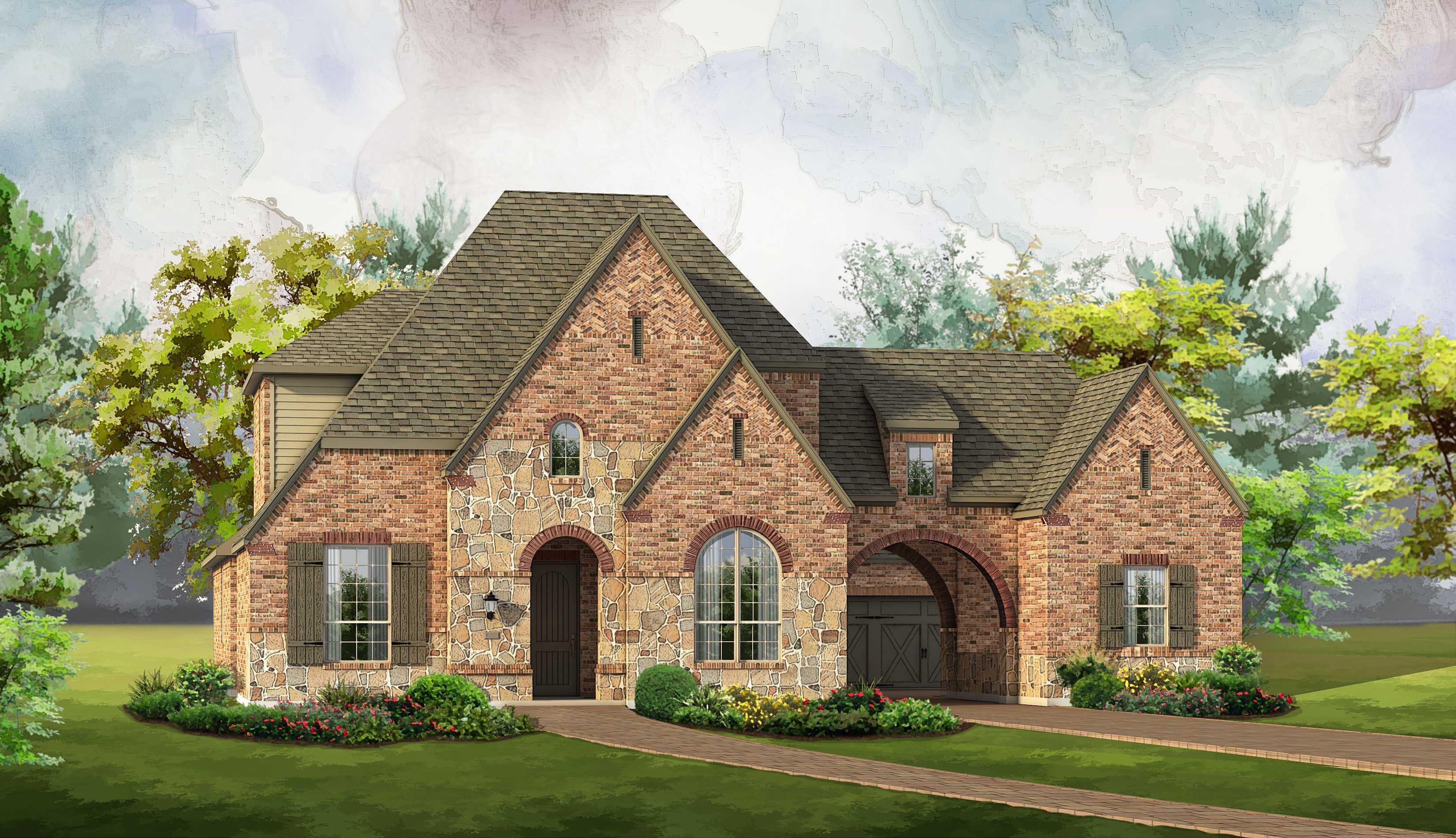Single Family for Sale at Regency Park - Plan 6161 4012 Baldomera Street Flower Mound, Texas 75022 United States