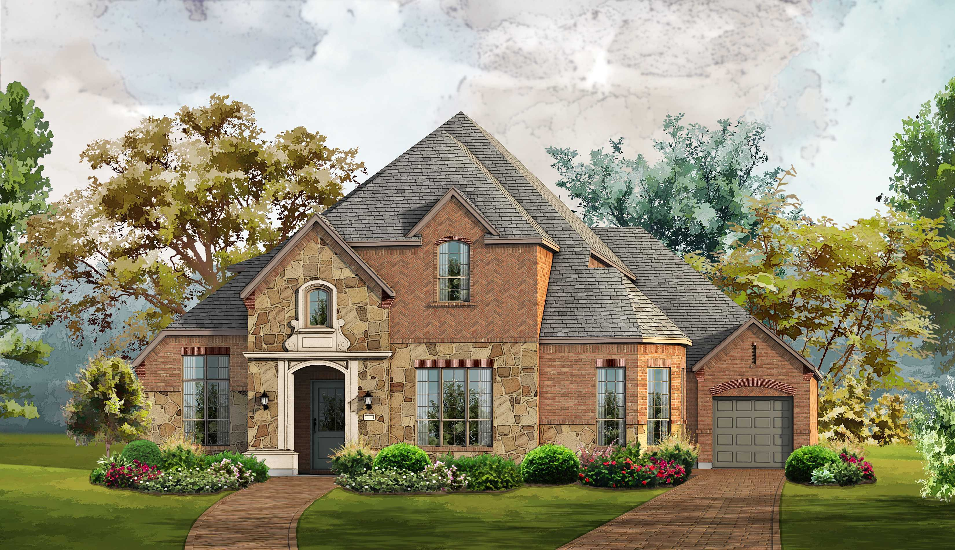 Single Family for Sale at The Tribute - Balmerino - Plan 3950 3004 Kingsbarns The Colony, Texas 75056 United States