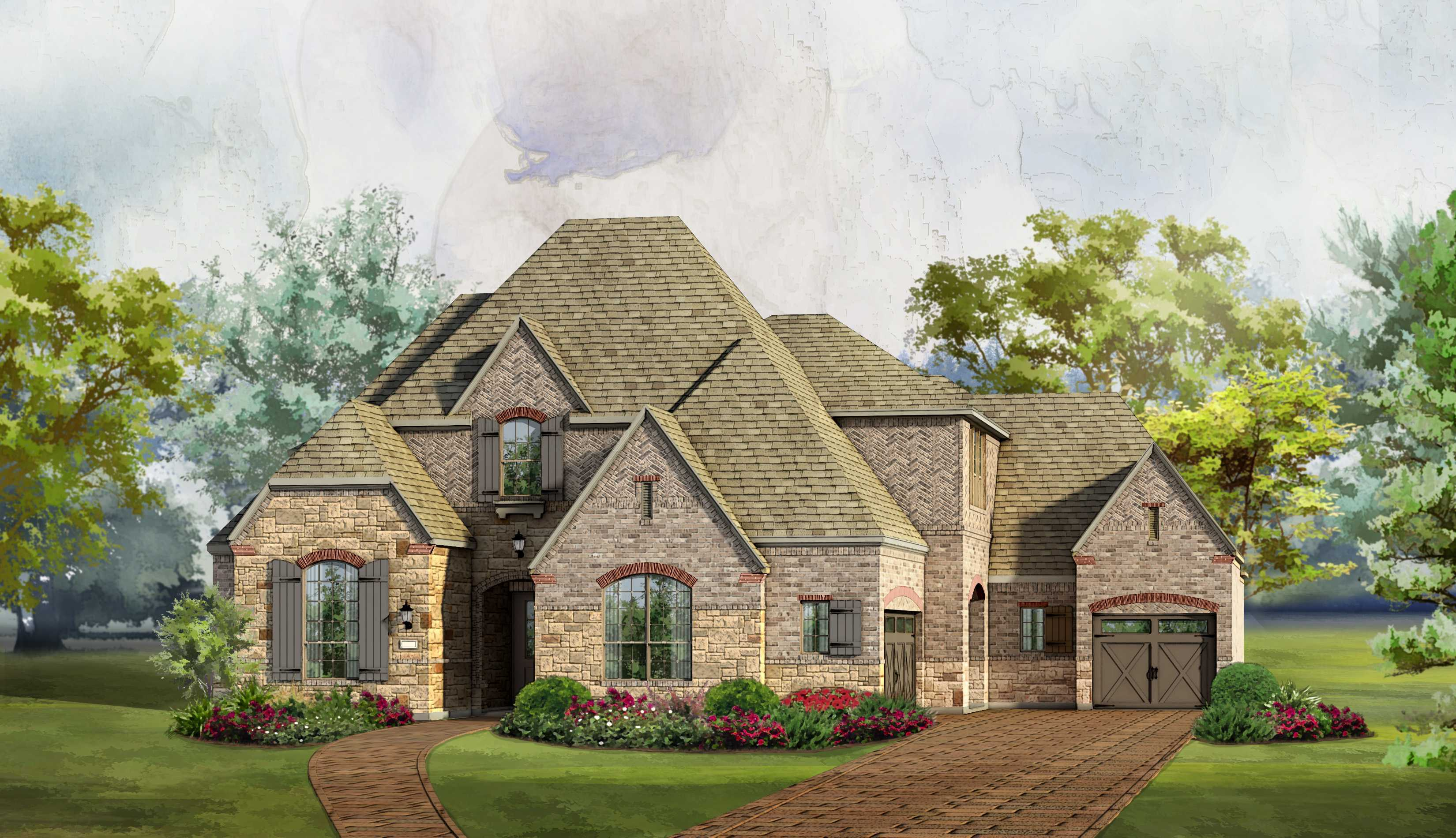 Single Family for Sale at The Tribute - Balmerino - Plan 6741 3004 Kingsbarns The Colony, Texas 75056 United States