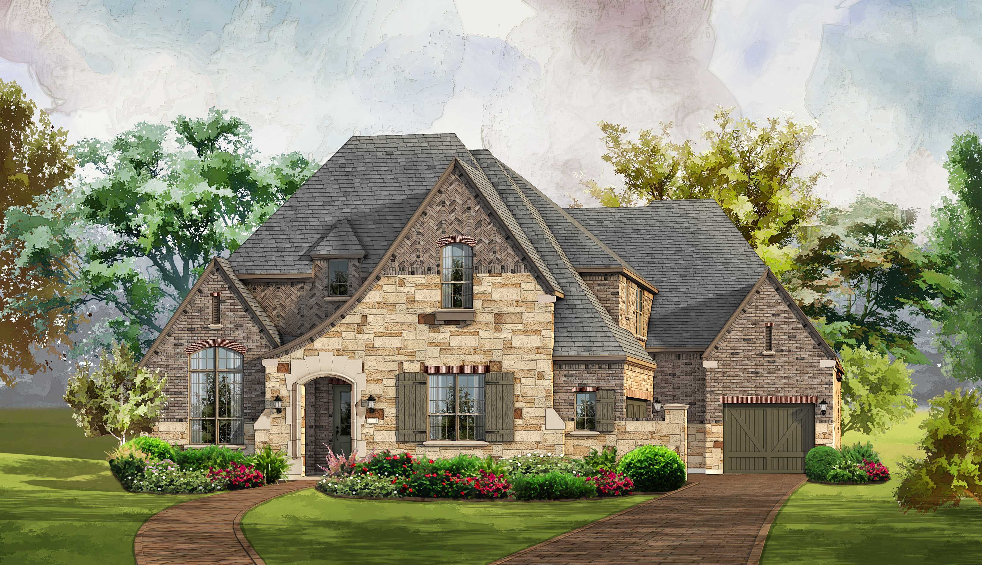 Single Family for Sale at Plan 3970 4118 Parkview Boulevard Celina, Texas 75009 United States