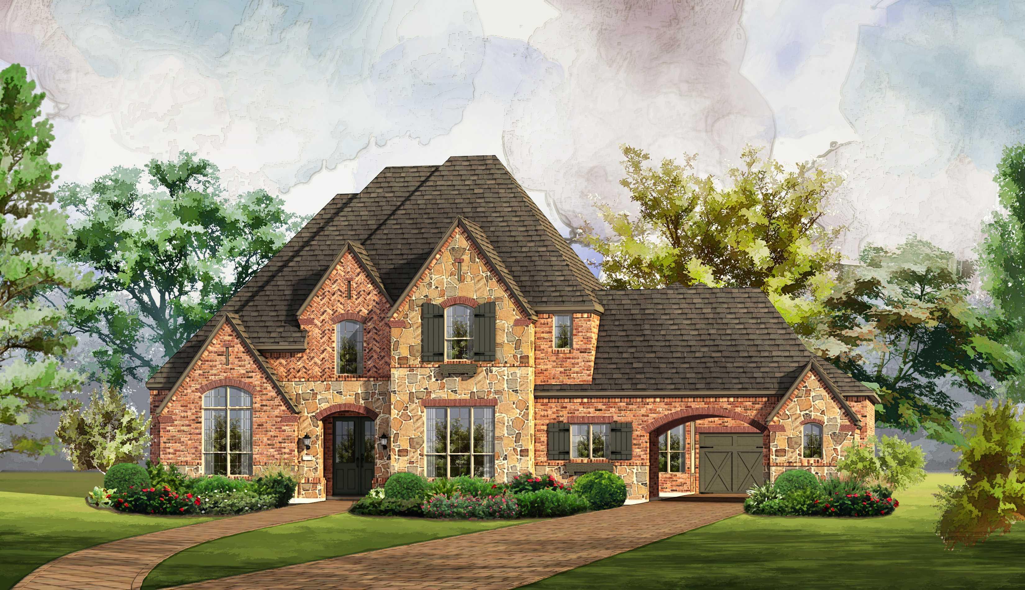 Single Family for Sale at Regency Park - Plan 6791 4012 Baldomera Street Flower Mound, Texas 75022 United States
