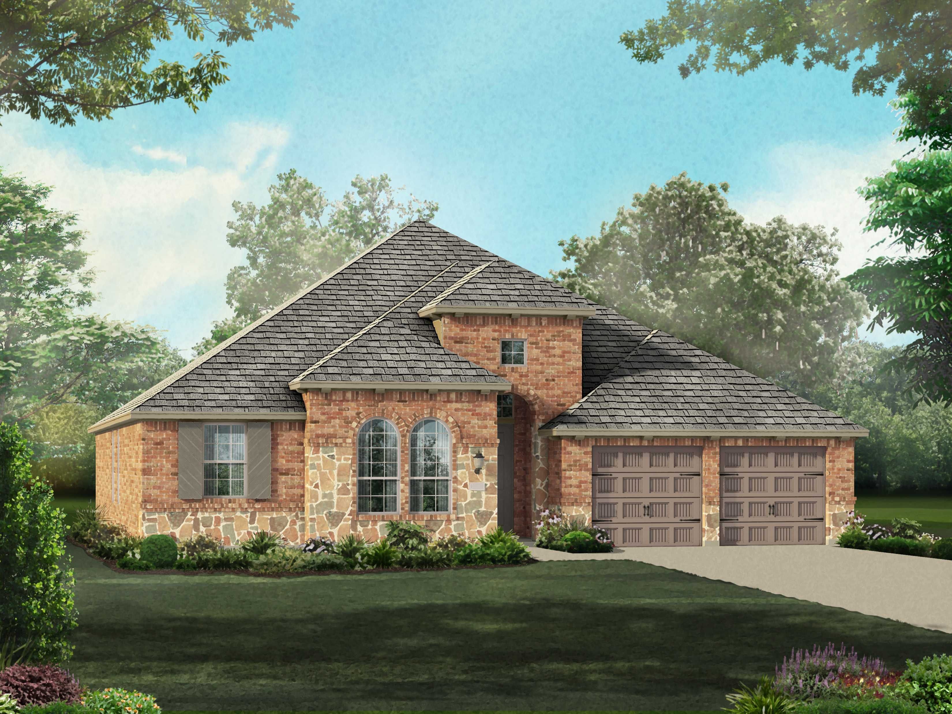 Plan 201 by highland homes long meadow farms for Richmond house plan
