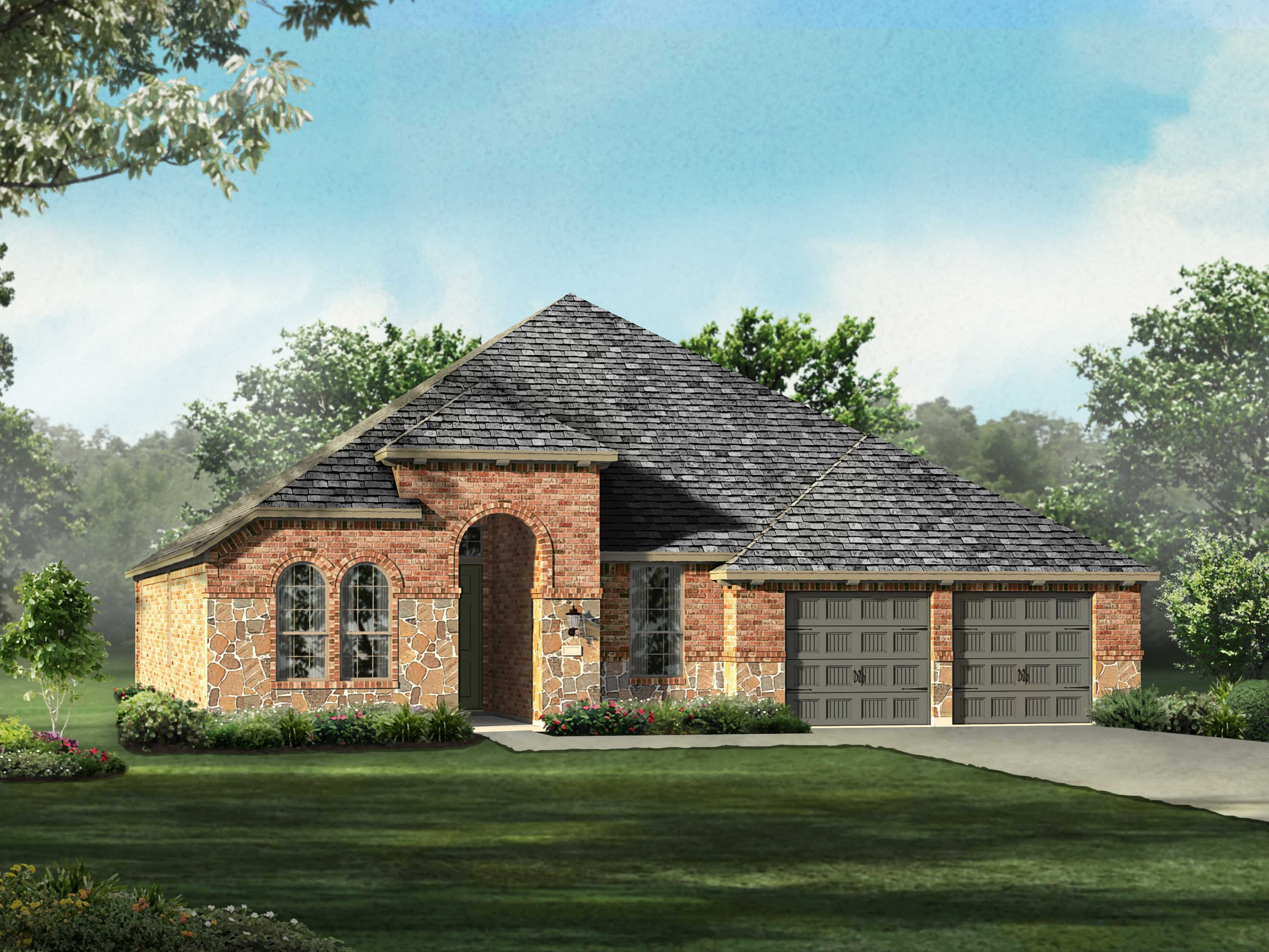 Single Family for Sale at Lakeside At Tessera On Lake Travis 80s - Plan 204 8012 Turning Leaf Circle Lago Vista, Texas 78645 United States