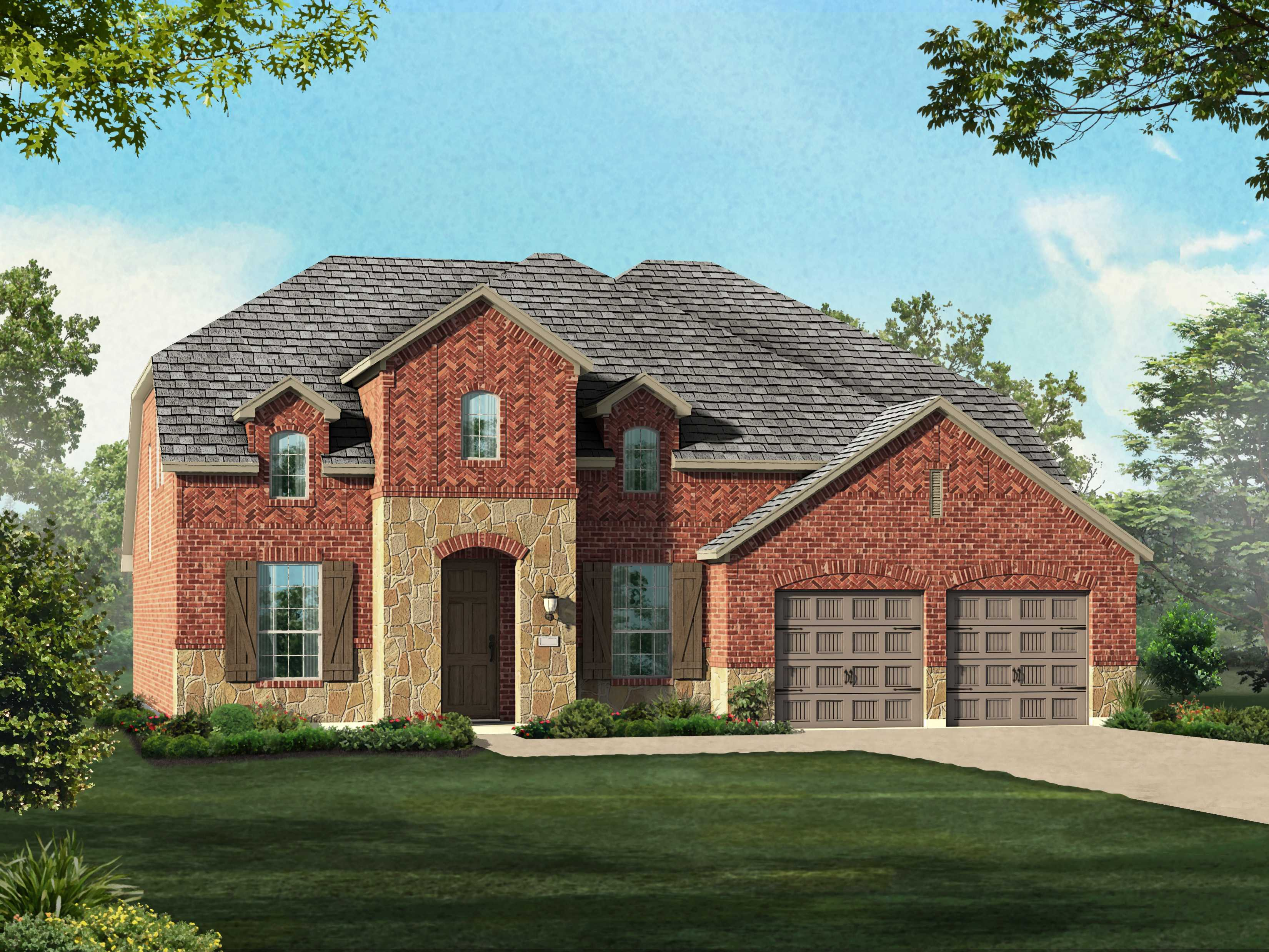 Single Family for Sale at Plan 205 1403 Belman Lane Forney, Texas 75126 United States