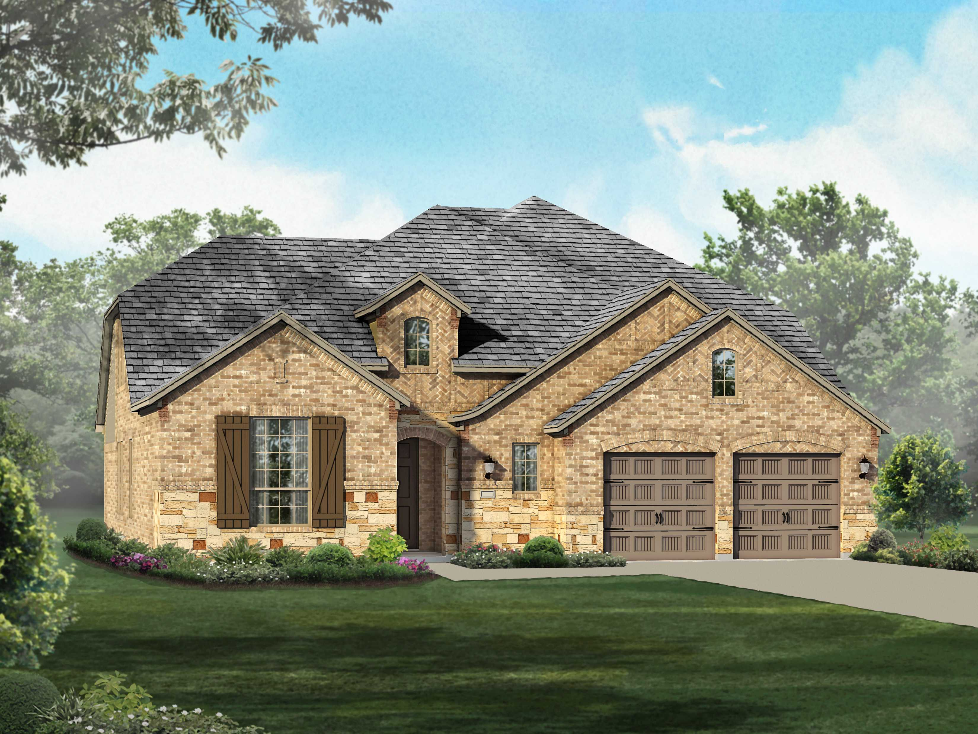 Single Family for Sale at Liberty - Plan 207 2715 Independence Drive Melissa, Texas 75454 United States