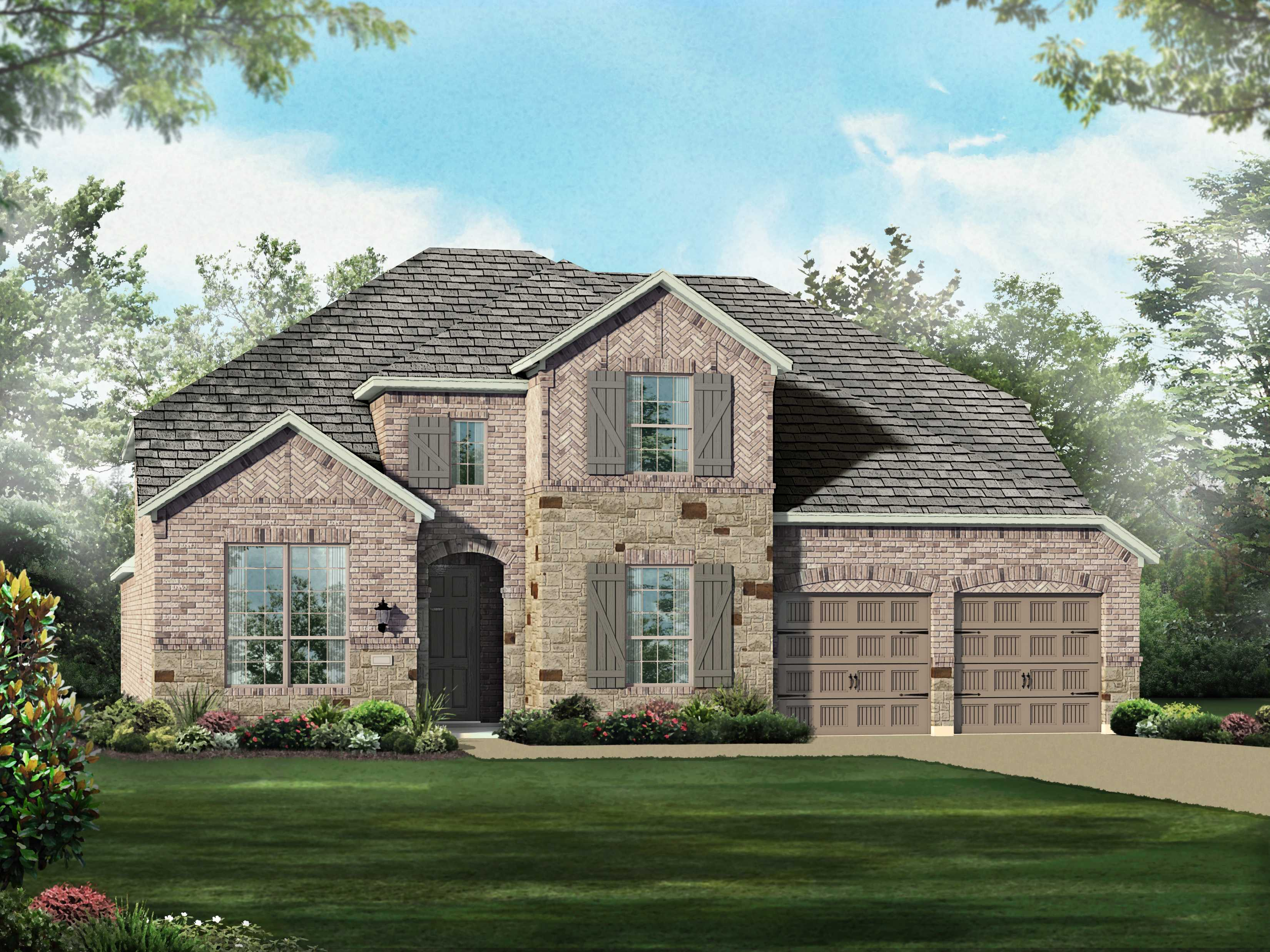 Single Family for Sale at Devonshire 60s - Plan 209 1018 Hoxton Ln Forney, Texas 75126 United States