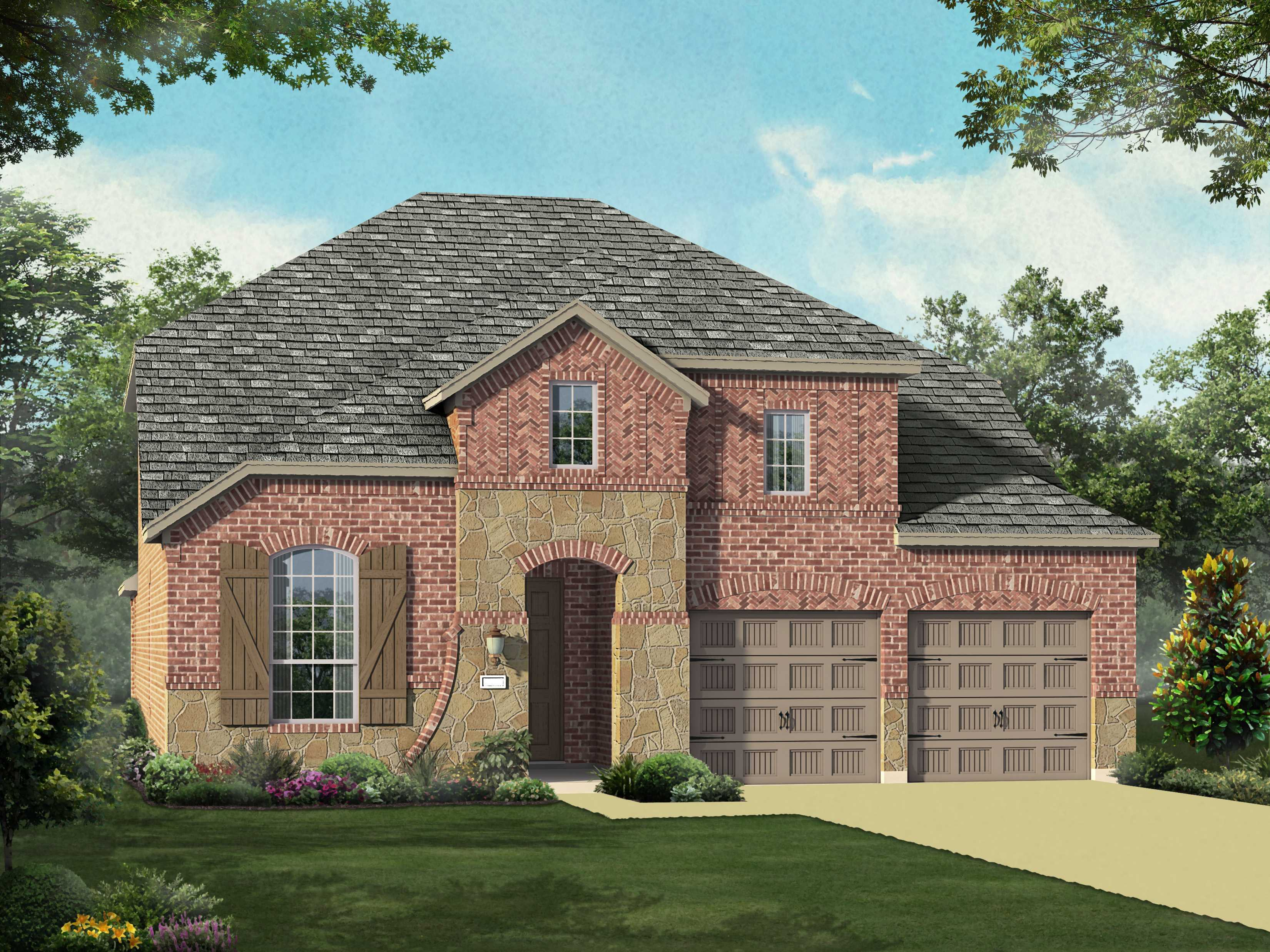 Single Family for Sale at Liberty - Plan 558 2715 Independence Drive Melissa, Texas 75454 United States