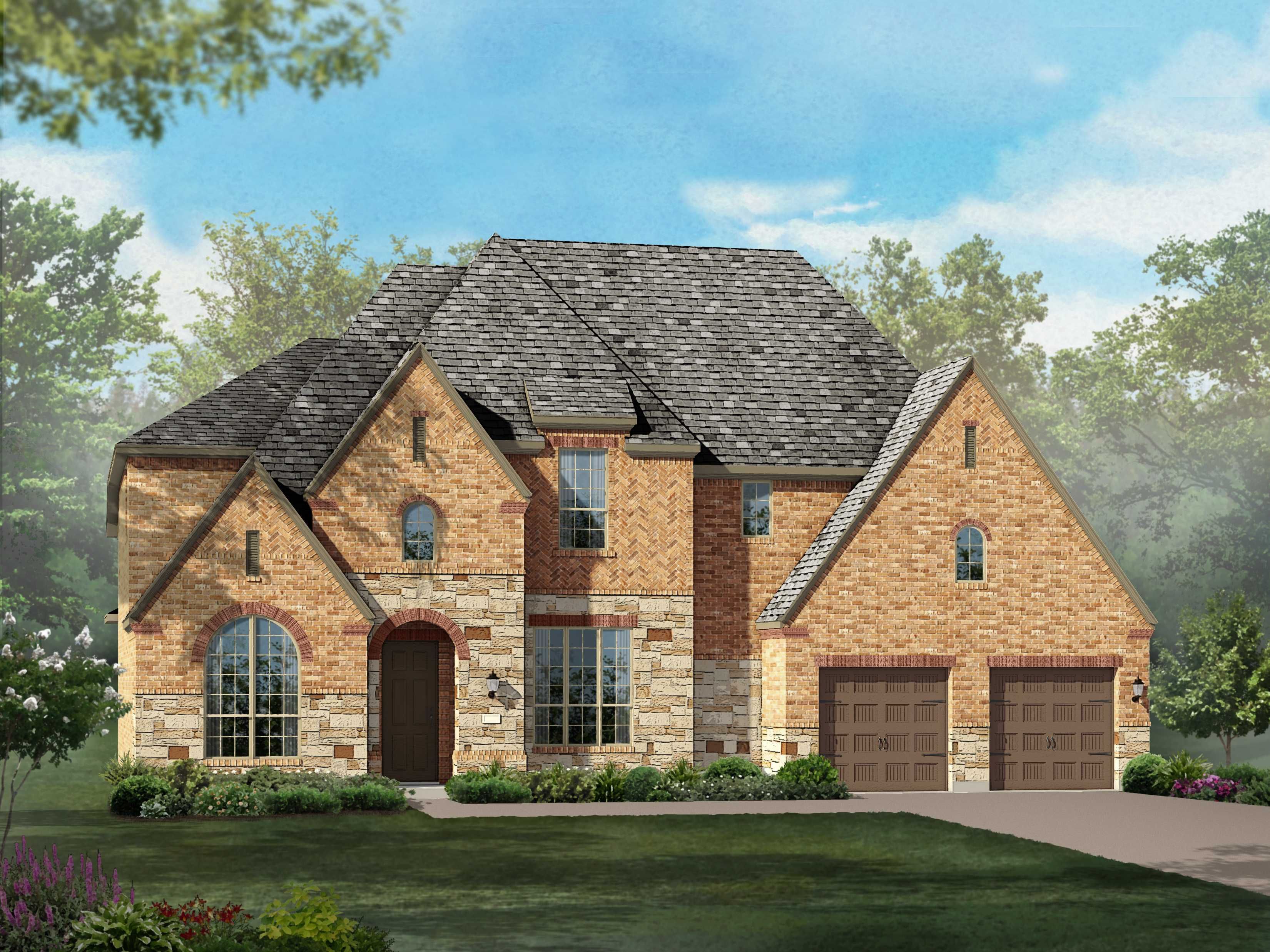 Single Family for Sale at Overlook At Stonewall Estates - Plan 294 8118 Juliet Hill San Antonio, Texas 78256 United States