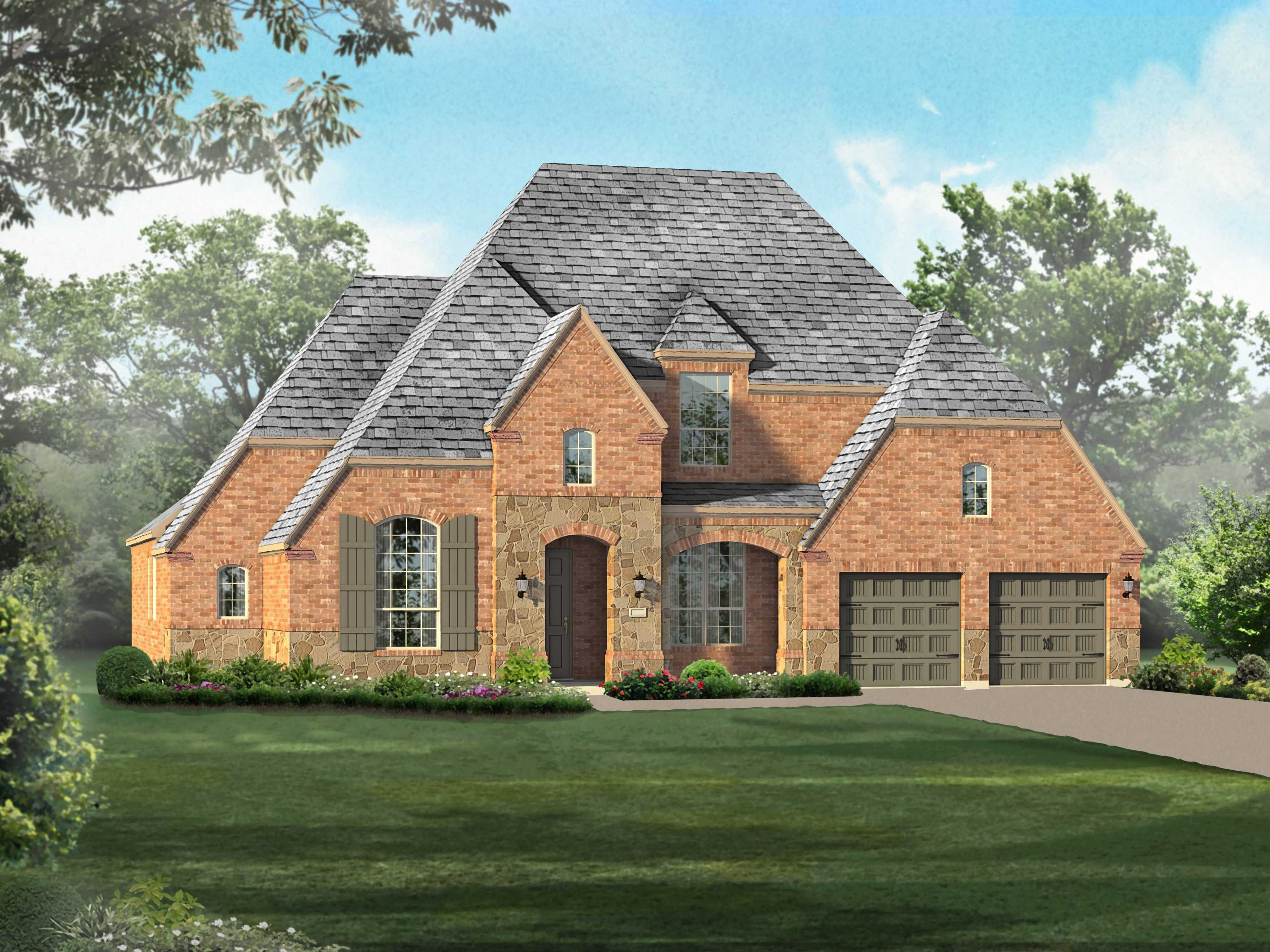 Single Family for Sale at Wildridge 70s - Plan 266 9732 Grouse Ridge Ln Oak Point, Texas 75068 United States