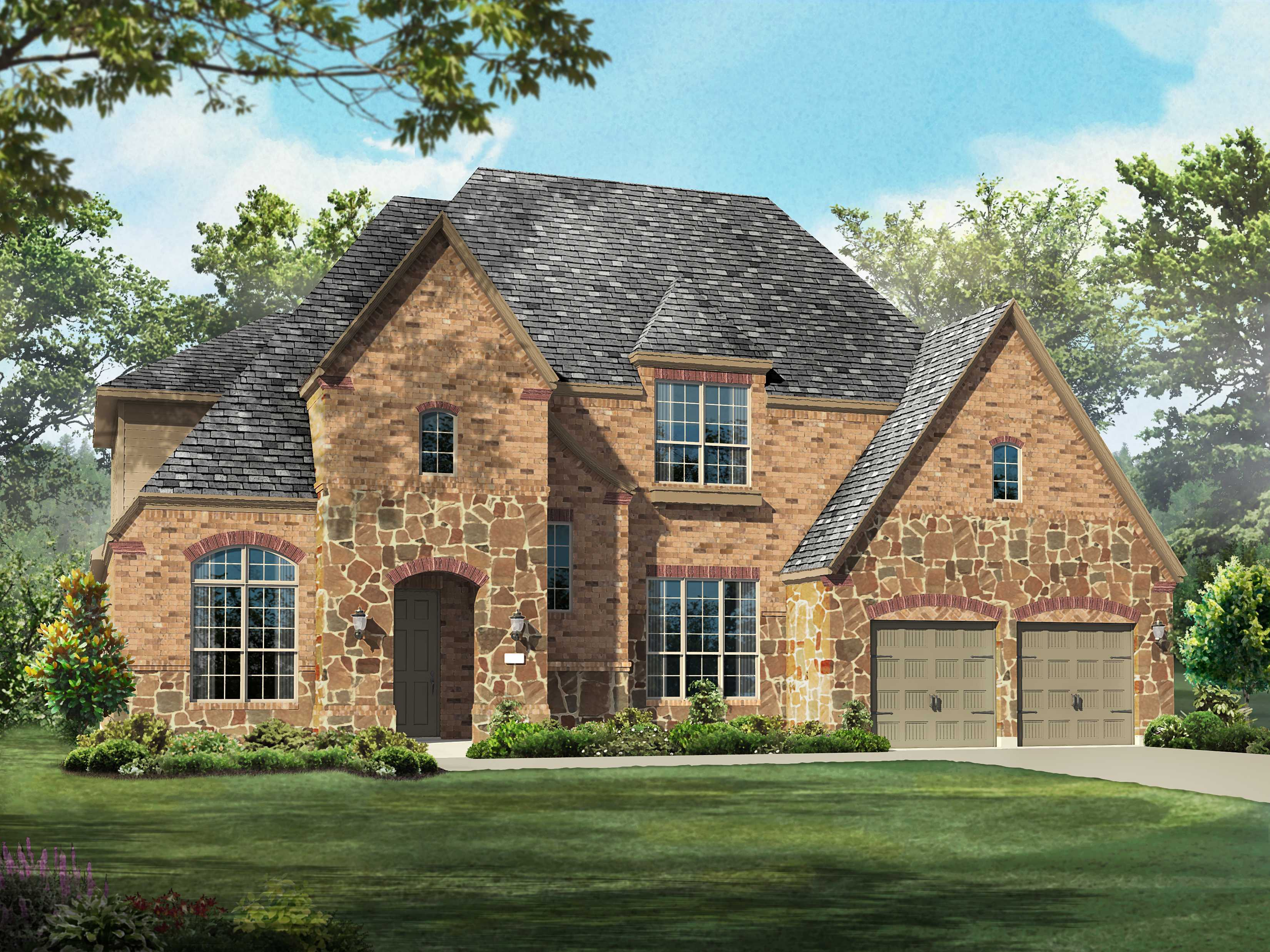 Single Family for Sale at Overlook At Stonewall Estates - Plan 293 8118 Juliet Hill San Antonio, Texas 78256 United States