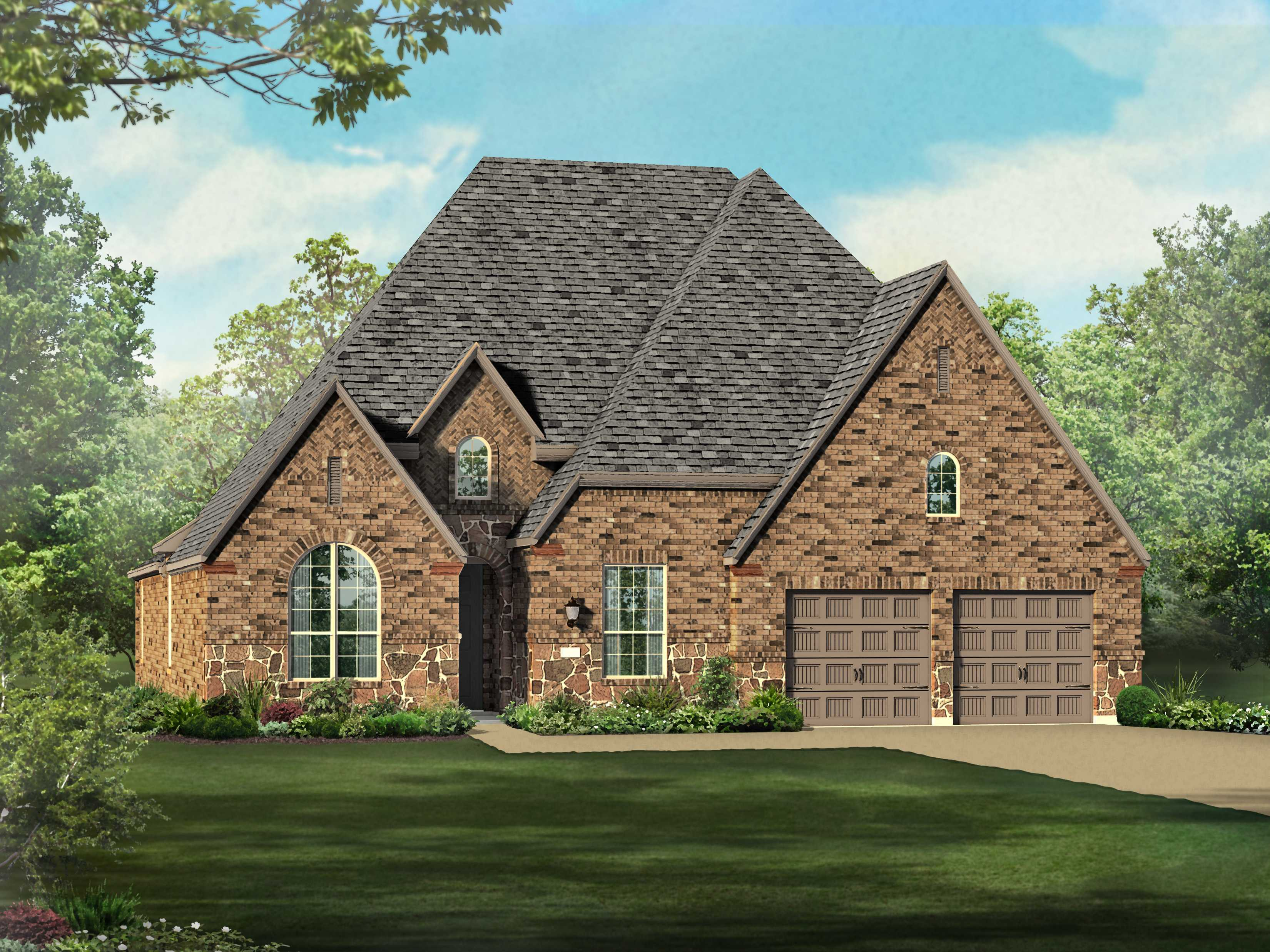 Single Family for Sale at Plan 204 6414 Kingston Valley Trail Katy, Texas 77493 United States