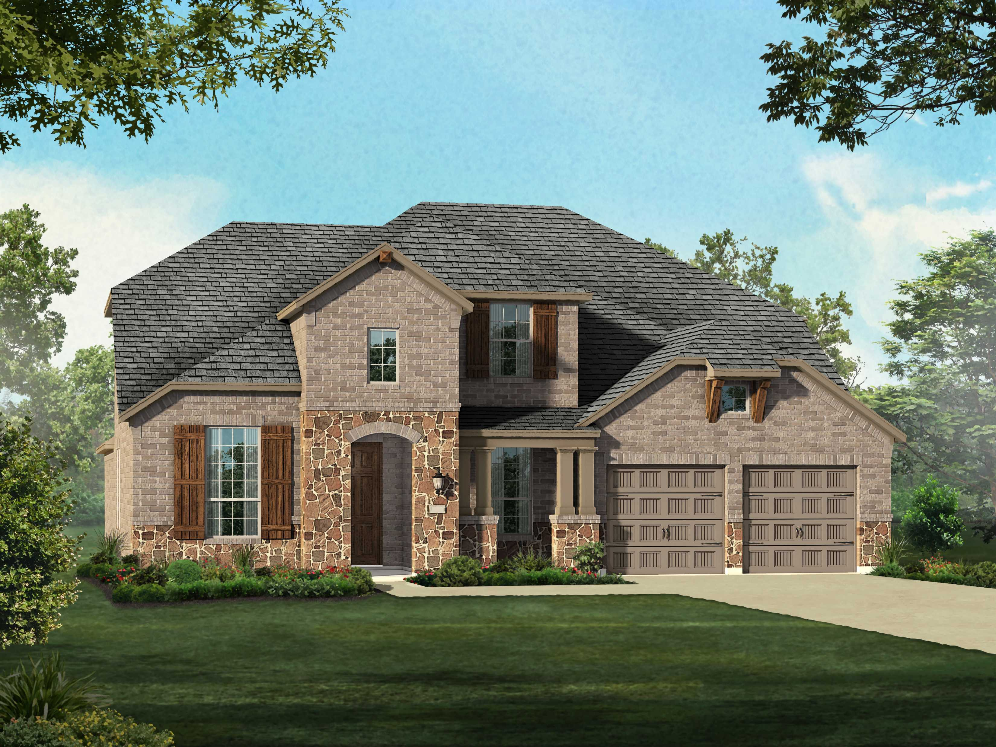 Single Family for Sale at Plan 208 32133 Mustang Hill Bulverde, Texas 78163 United States