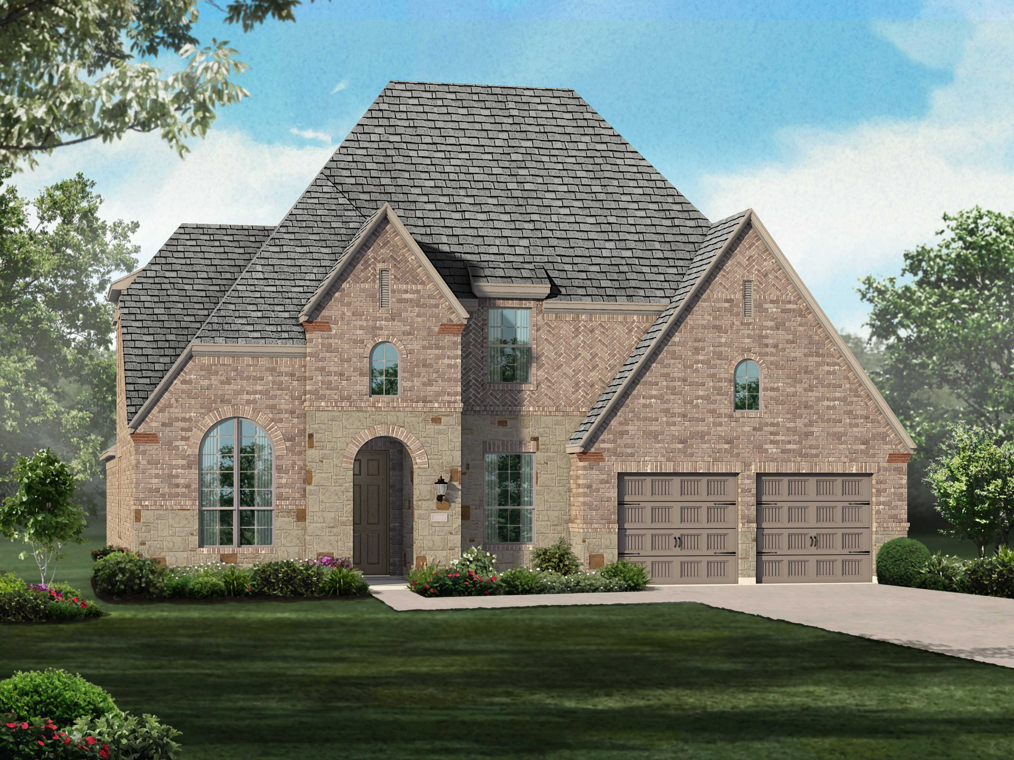 Single Family for Sale at Plan 208 1882 Knoxbridge Road Forney, Texas 75126 United States