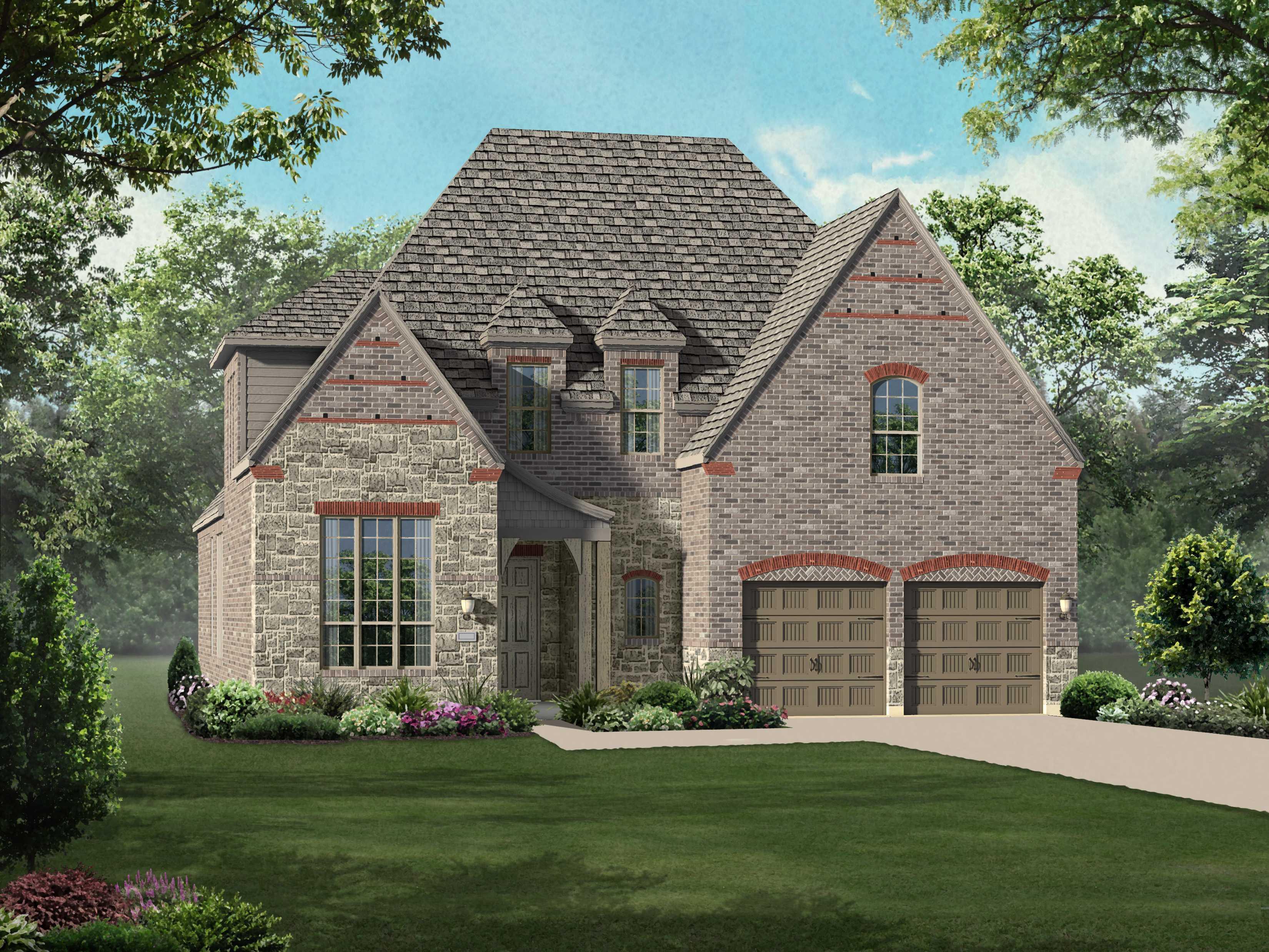 Single Family for Sale at Canyon Falls 60s - Persimmon - Plan 547 6384 Prairie Brush Trail Argyle, Texas 76226 United States