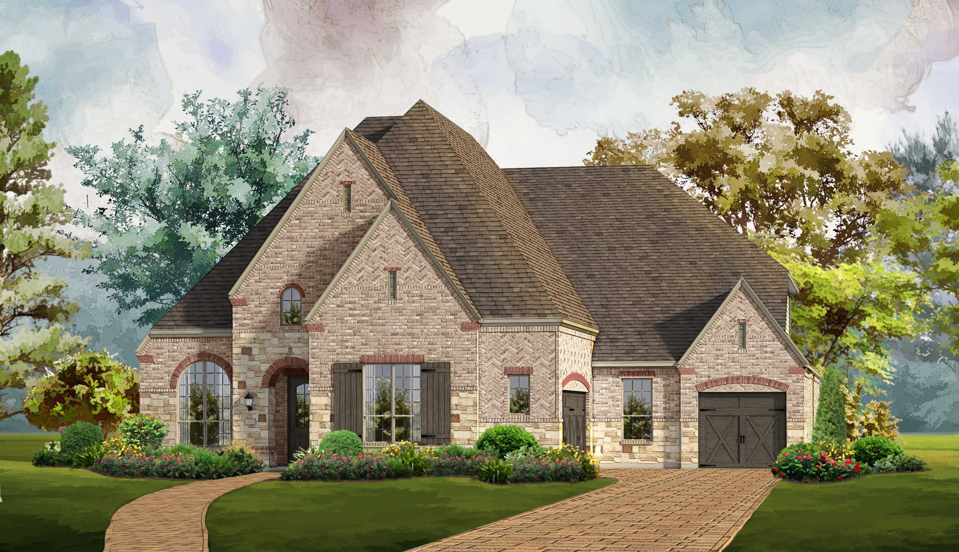 Single Family for Sale at Plan 6171 3016 Kingsbarns The Colony, Texas 75056 United States