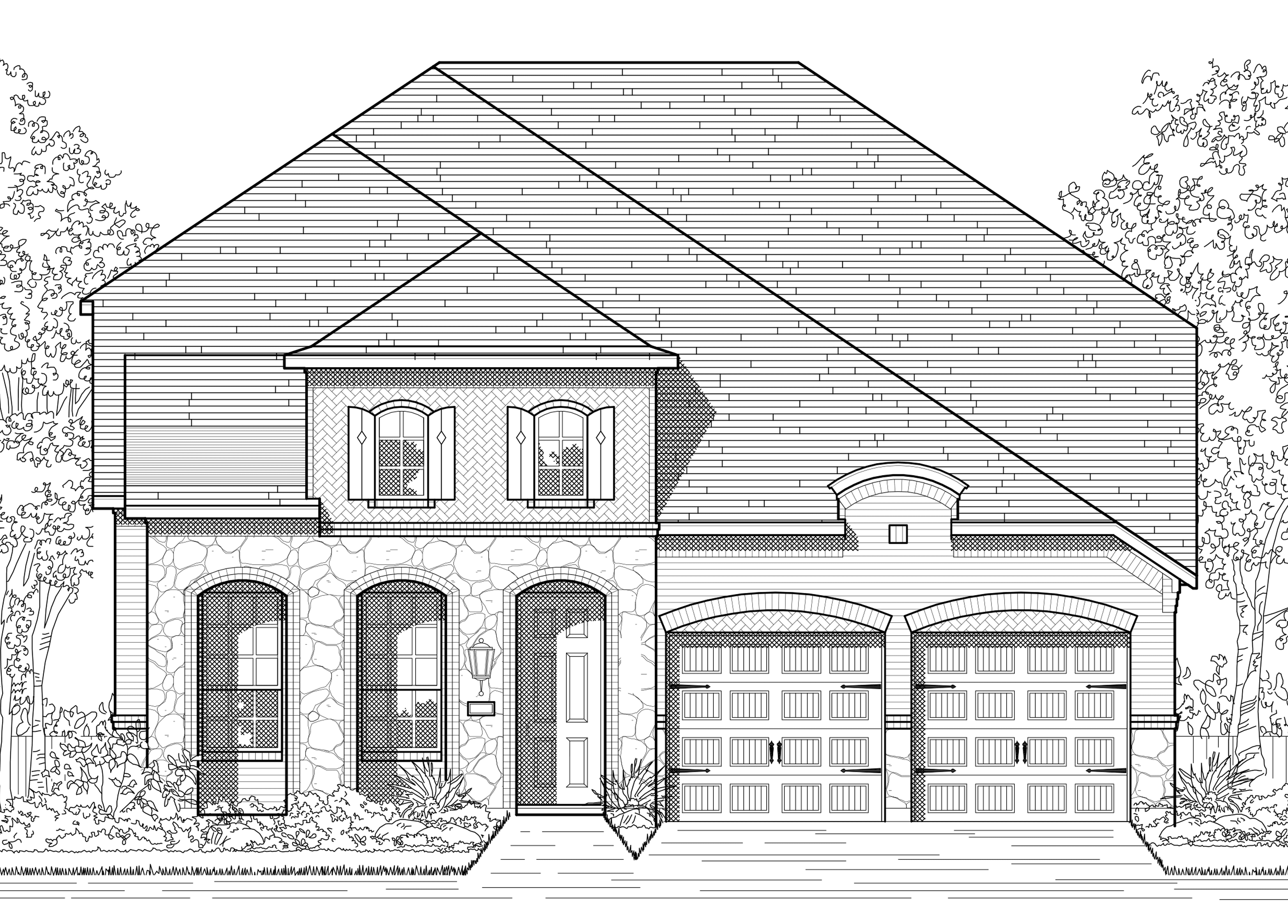 Highland Homes Cross Creek Ranch Cross Creek Ranch 55s Plan 559 1377503 Fulshear Tx New