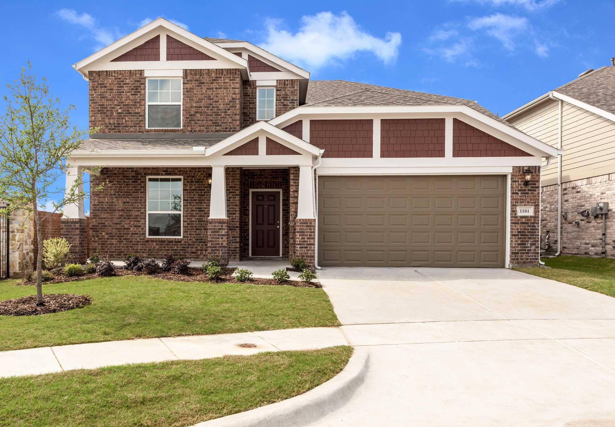 Single Family for Sale at Plan Westbury 1101 Kingston Court Anna, Texas 75409 United States
