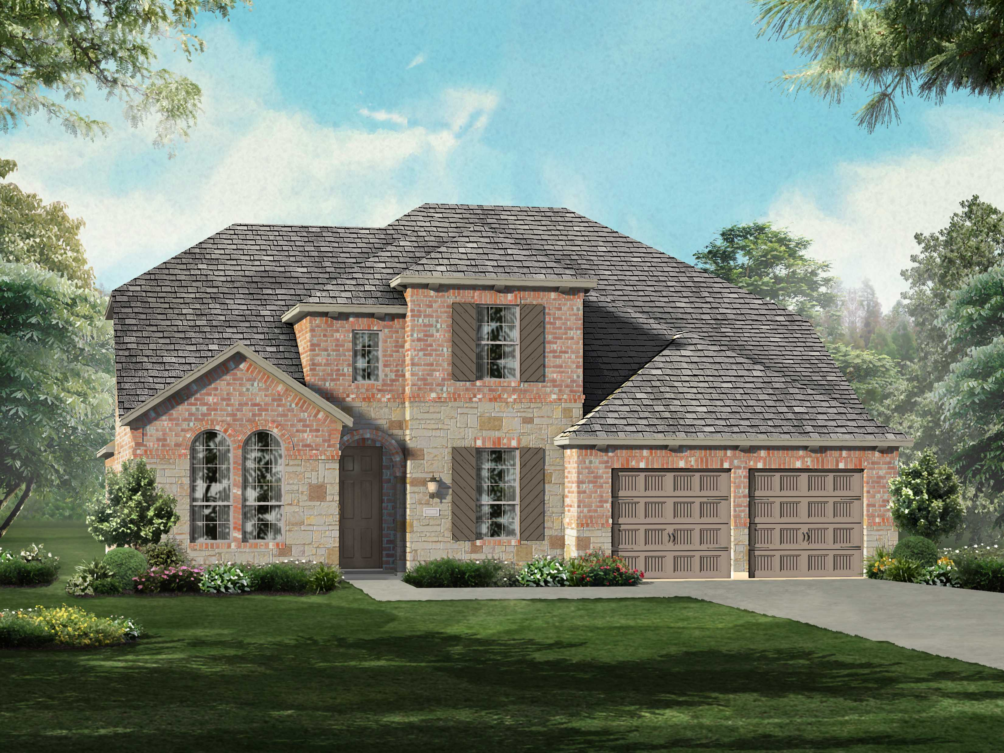 Single Family for Sale at Liberty - Plan 208 2715 Independence Drive Melissa, Texas 75454 United States