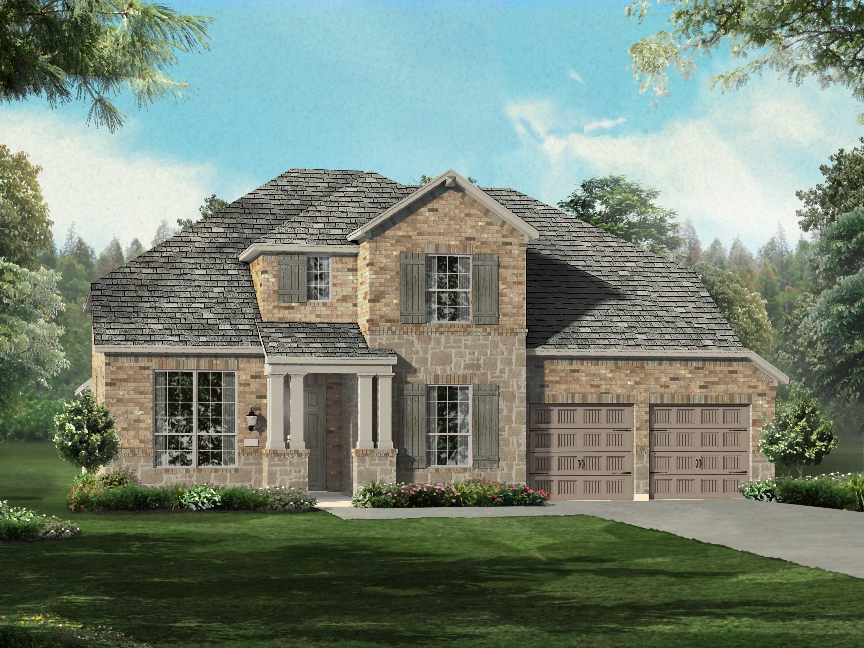 Additional photo for property listing at Lakes Of Prosper - Plan 209  Prosper, Texas 75078 United States