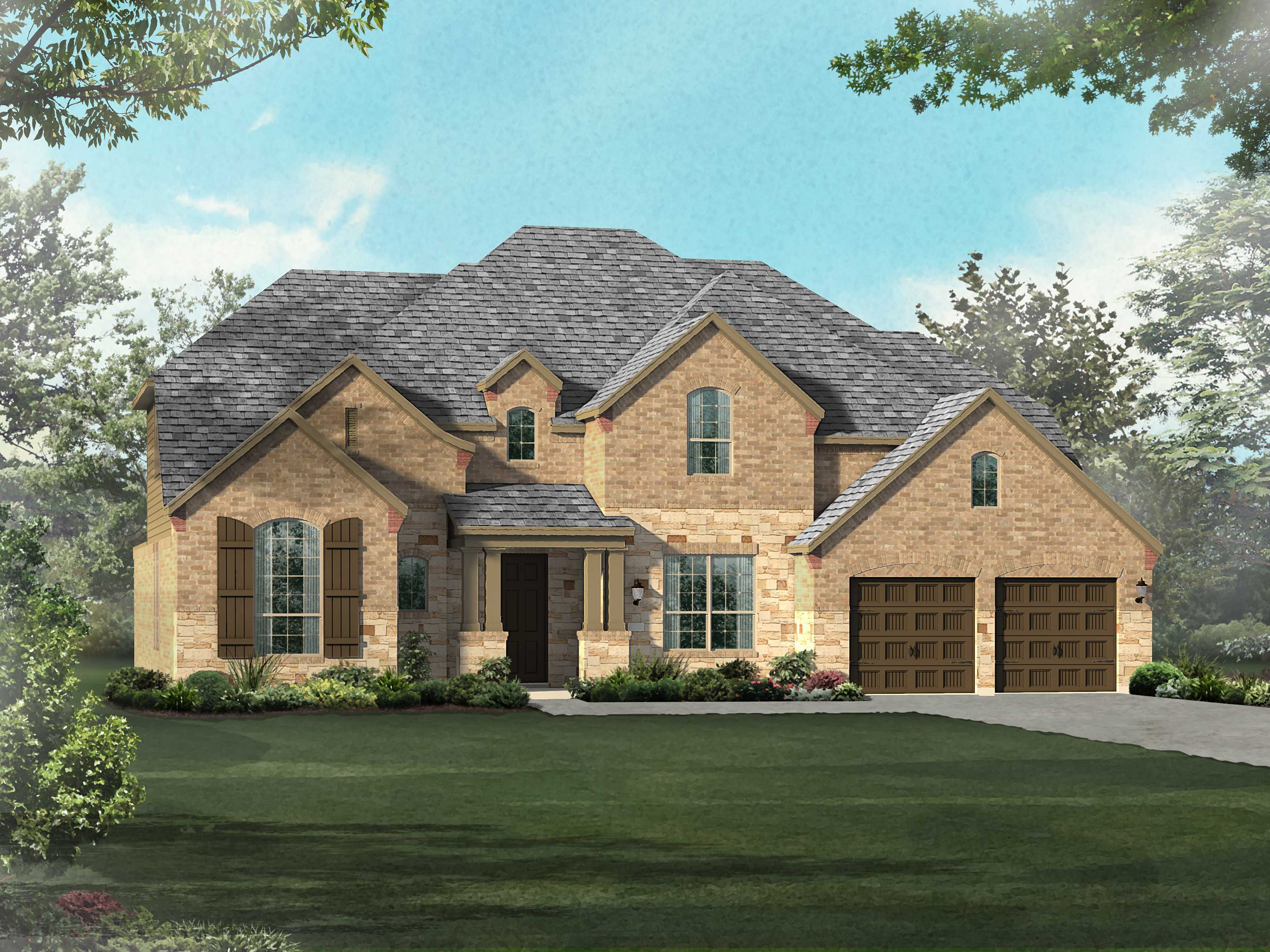 Single Family for Sale at Parkside At Mayfield Ranch 70s - Plan 267 113 Battleship Drive Georgetown, Texas 78628 United States