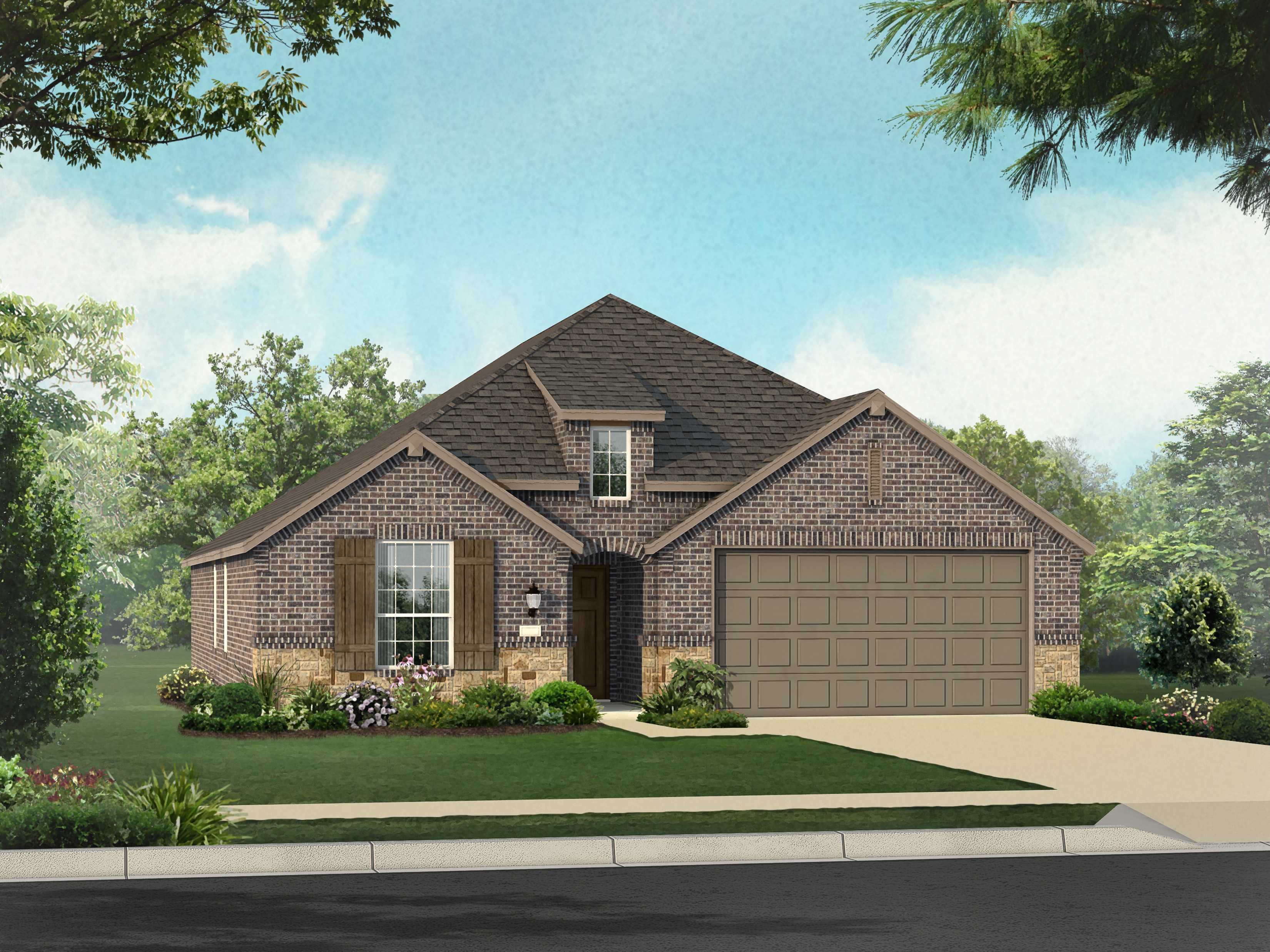 Highland homes siena plan ashwood 1329226 round rock for Ashwood homes