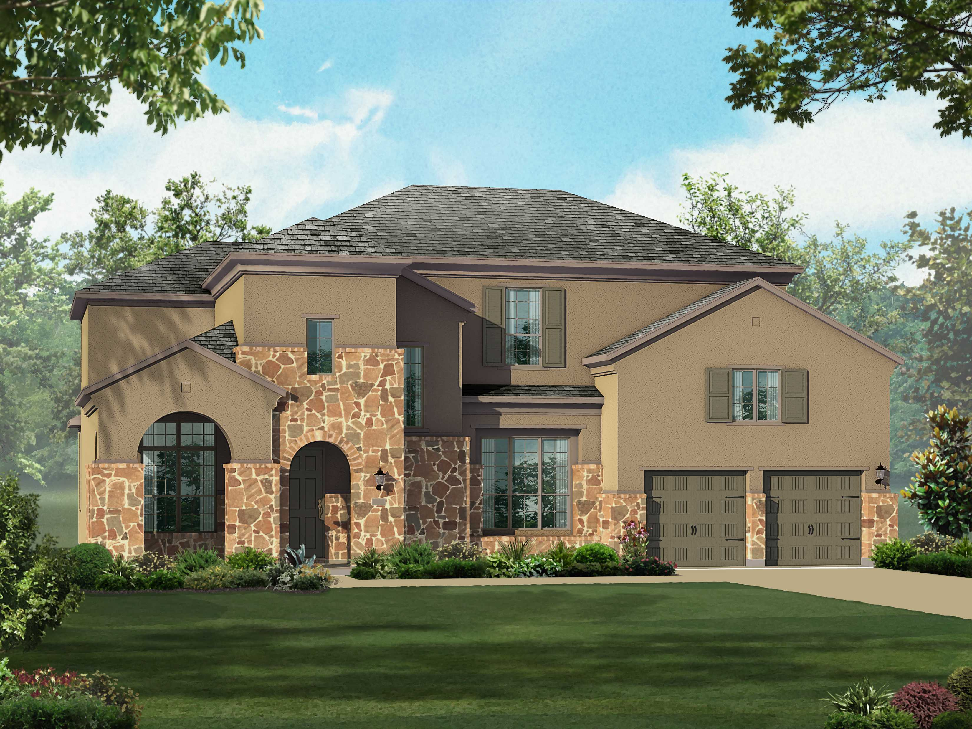 Unifamiliar por un Venta en Overlook At Stonewall Estates - Plan 293 8118 Juliet Hill San Antonio, Texas 78256 United States