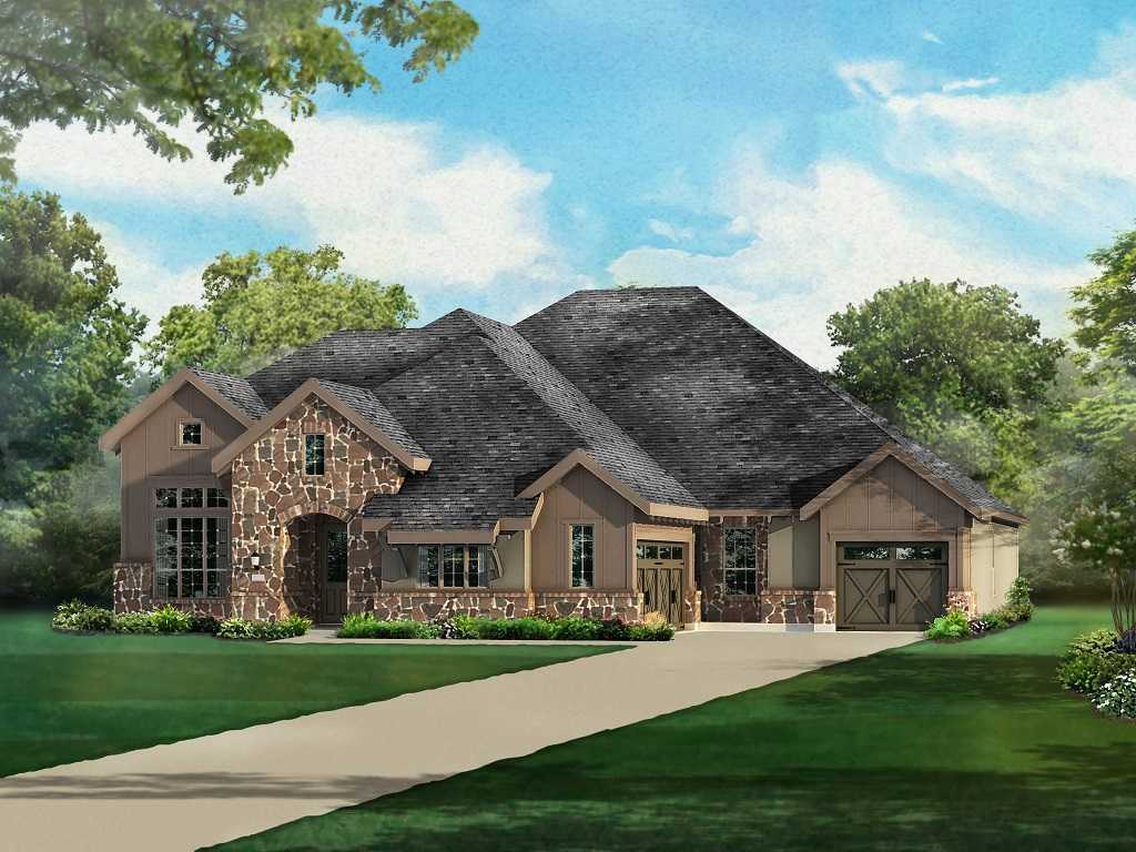 Single Family for Sale at Overlook At Stonewall Estates - Plan 673 28726 Front Gate Fair Oaks Ranch, Texas 78015 United States