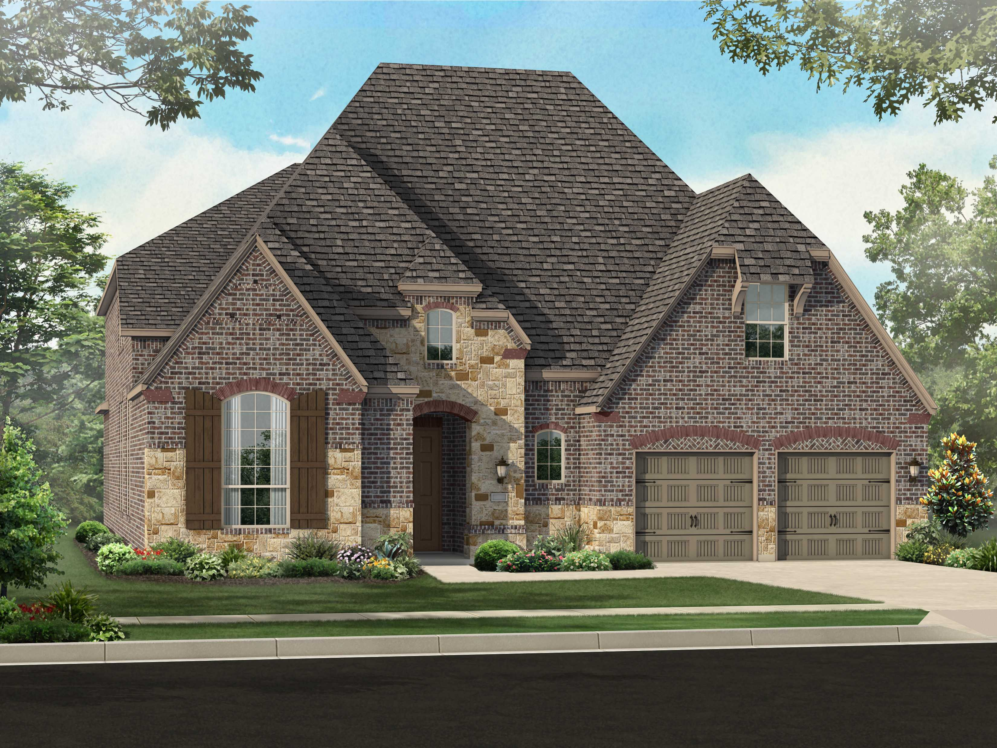Single Family for Sale at Plan 247 1141 Broadmoor Way Roanoke, Texas 76262 United States