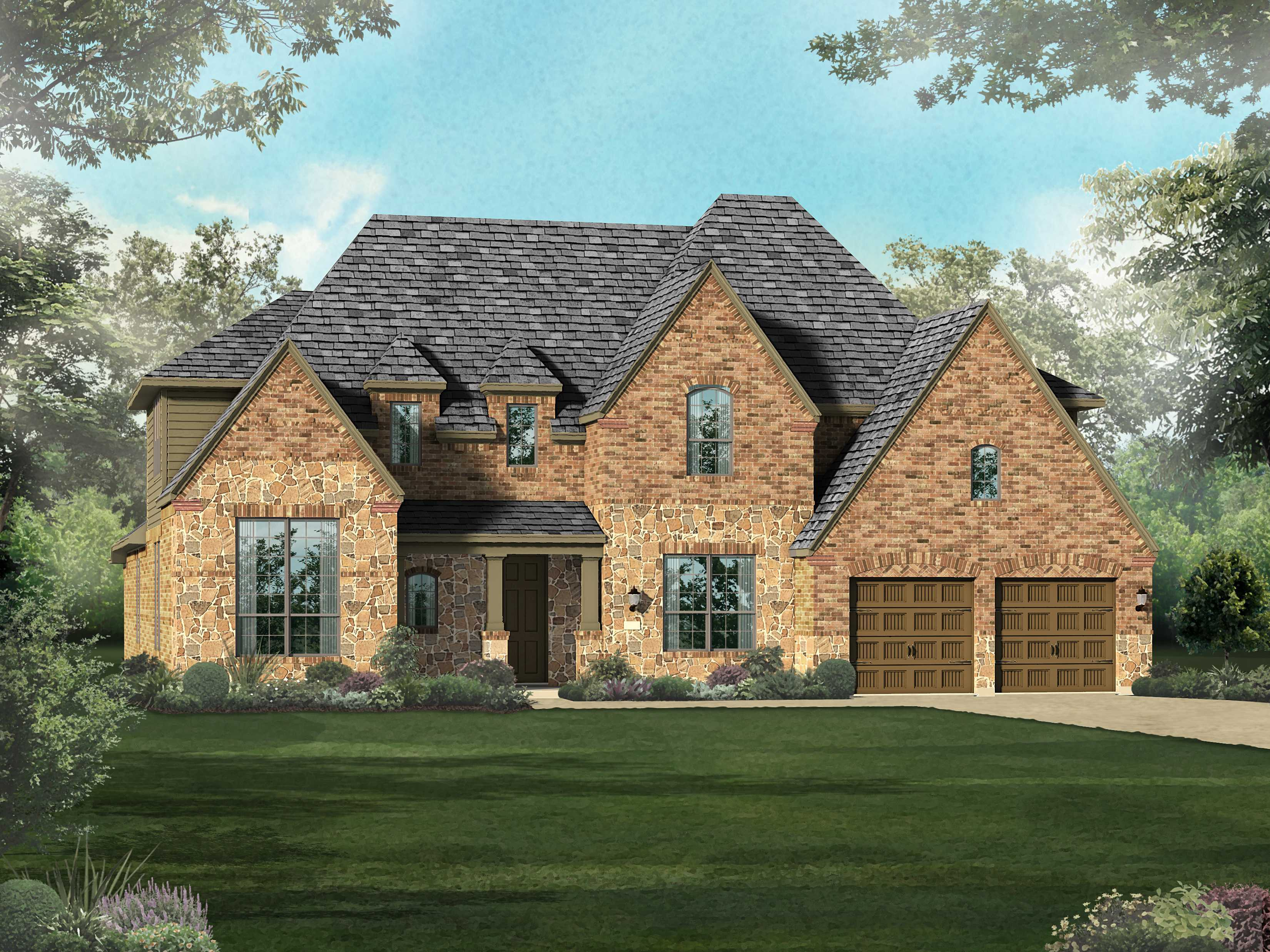 Single Family for Sale at Estates At Fronterra In Westpointe - Plan 267 2102 Buckner Pass San Antonio, Texas 78253 United States