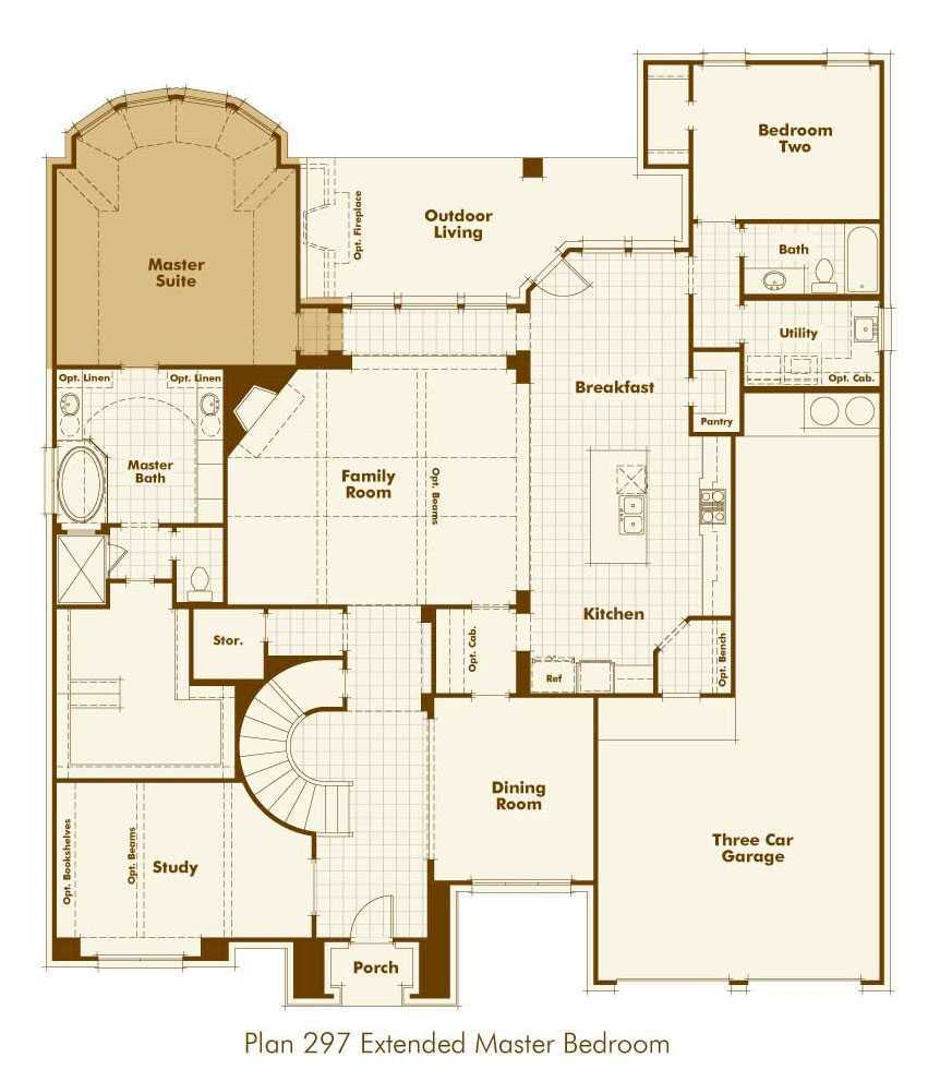 Additional photo for property listing at Overlook At Stonewall Estates - Plan 297 8118 Juliet Hill San Antonio, Texas 78256 United States