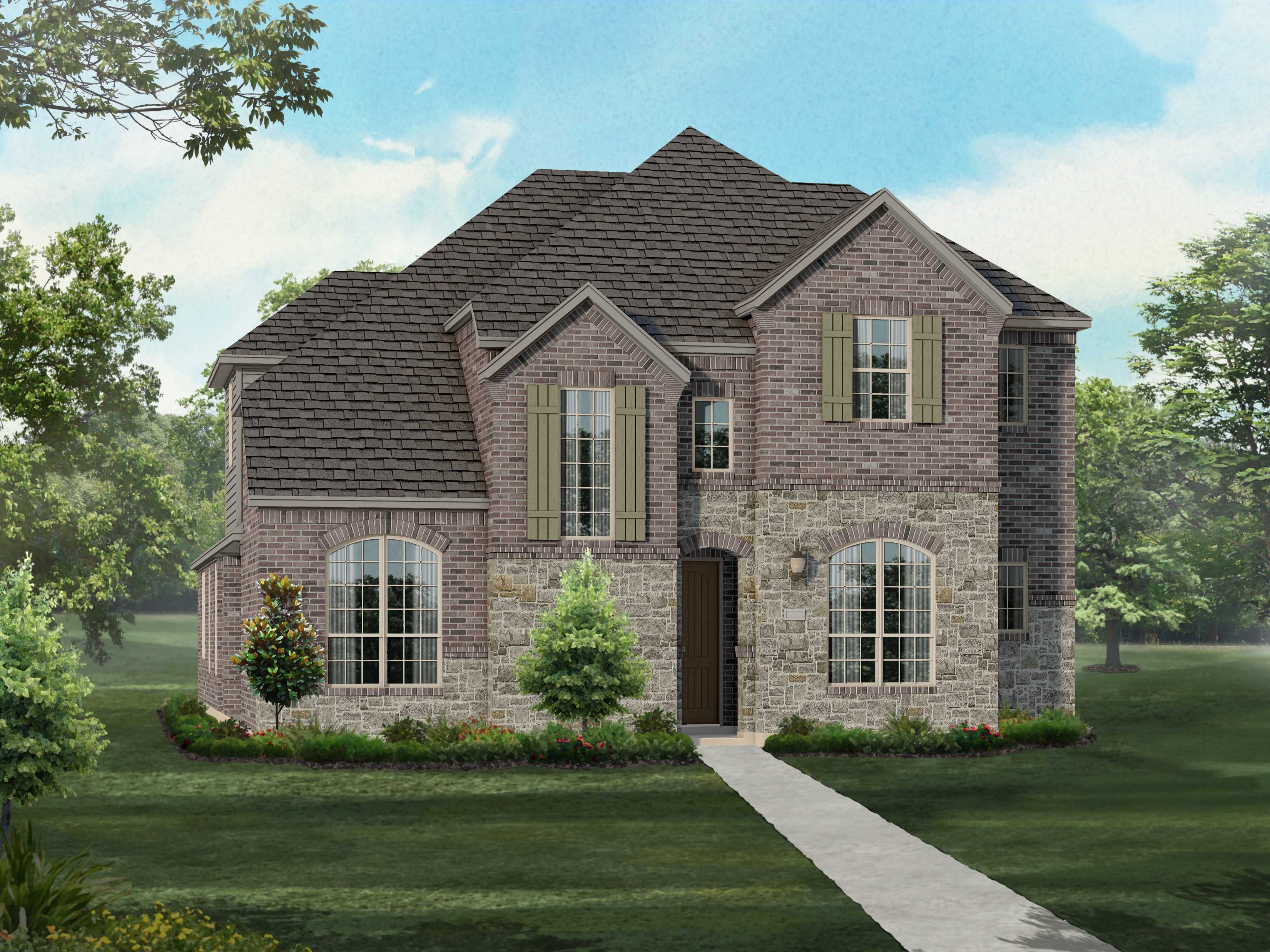 highland homes prairie view plan 374 1329427 frisco tx