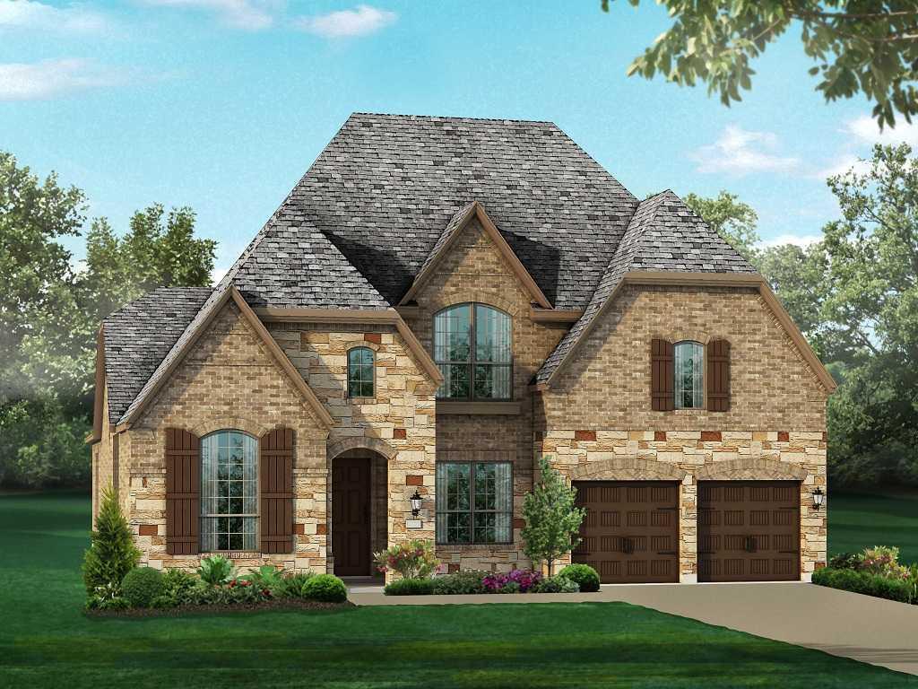 单亲家庭 为 销售 在 Hollyhock - Plan 246h 1909 Snapdragon Road Frisco, Texas 75033 United States