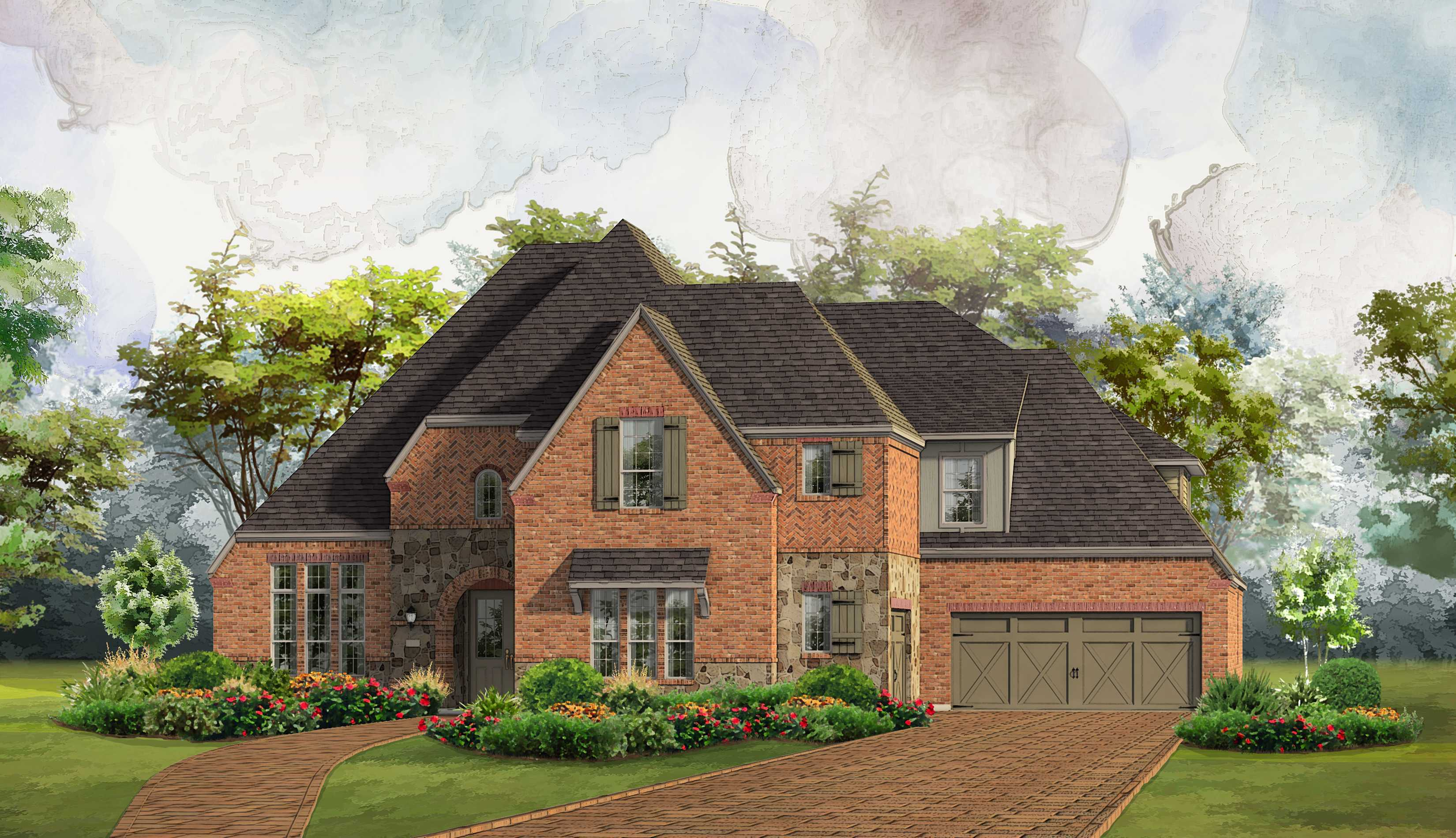 Single Family for Active at Whitley Place - Plan 6781 801 Cliff Creek Dr. Prosper, Texas 75078 United States