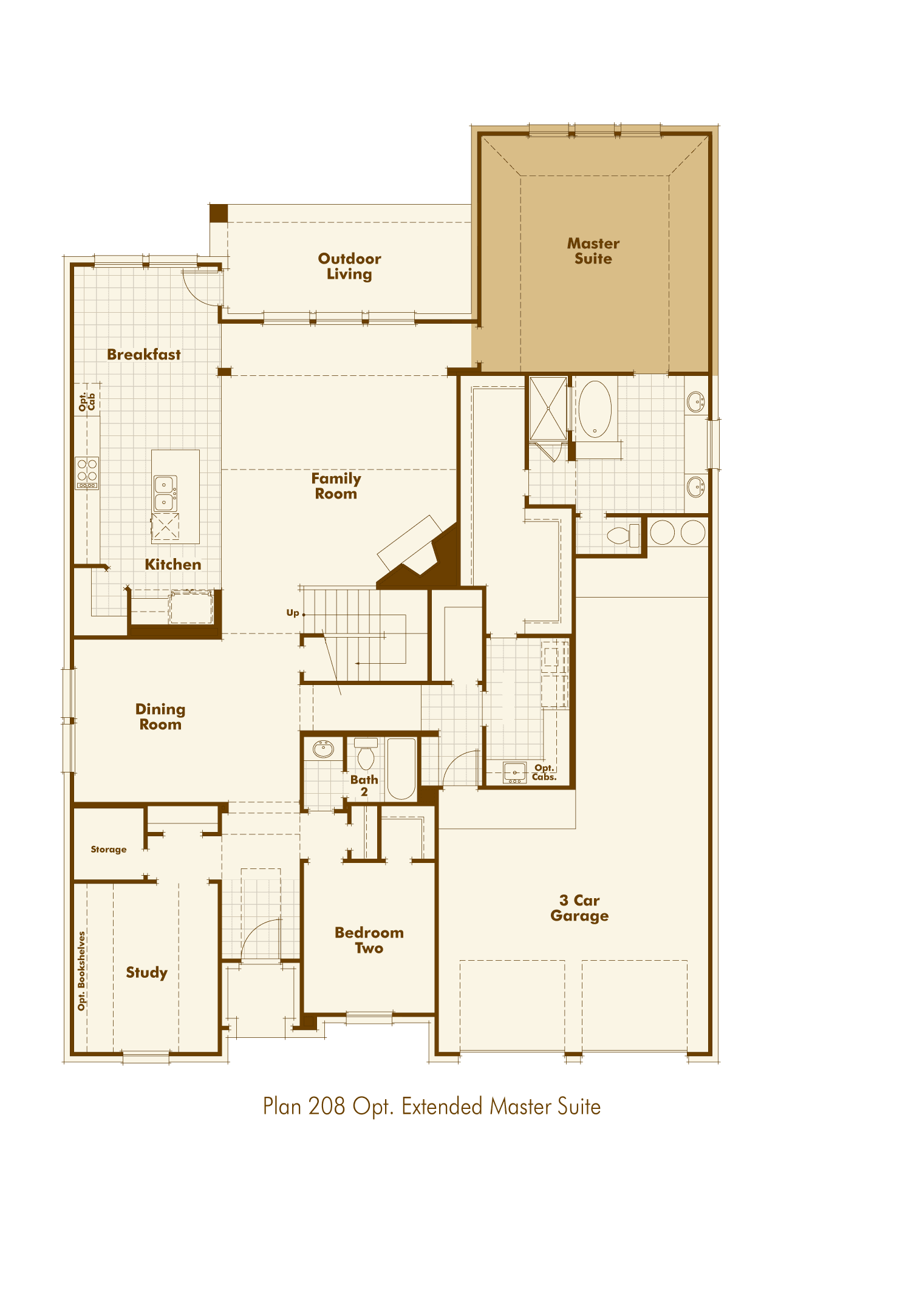 Highland Homes Rocky Creek Plan 208 1329070 Austin Tx