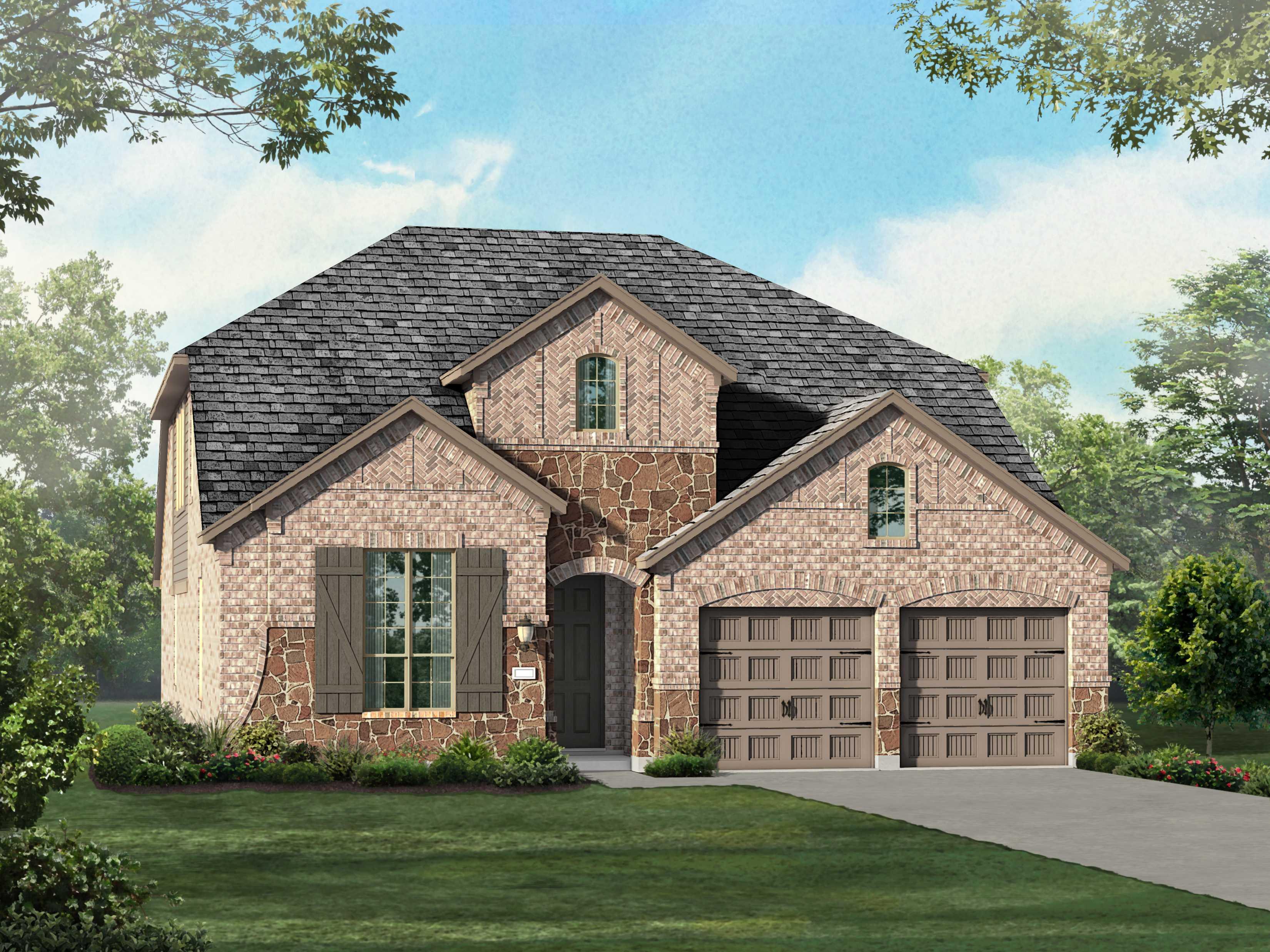 单亲家庭 为 销售 在 Star Trail - Plan 557 H 940 Shooting Star Prosper, Texas 75078 United States