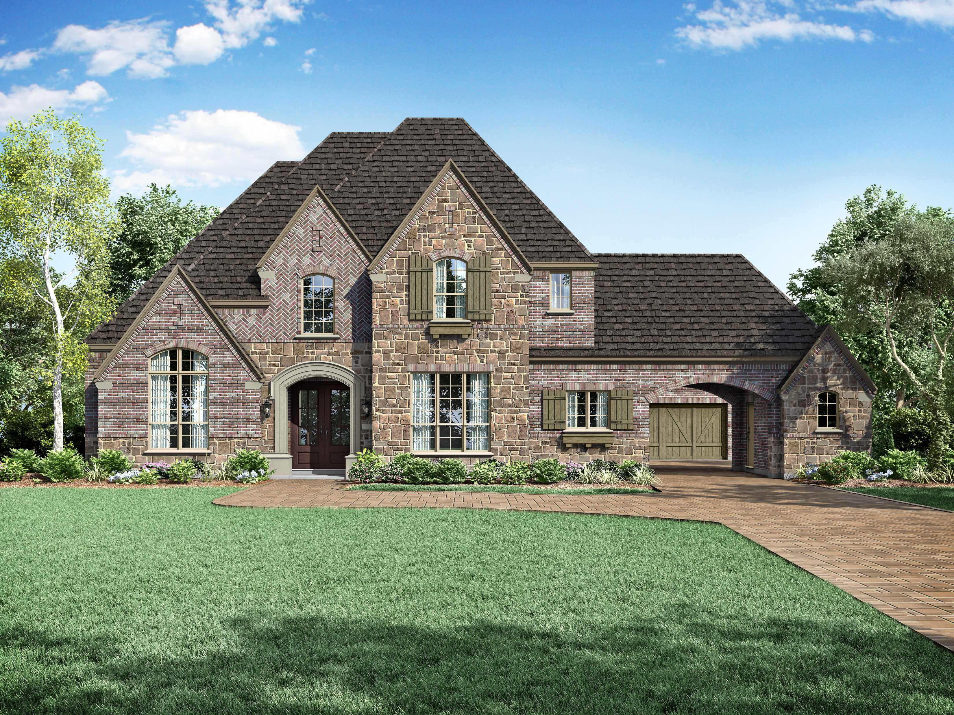 Single Family for Active at Whitley Place - Plan 6791 801 Cliff Creek Dr. Prosper, Texas 75078 United States