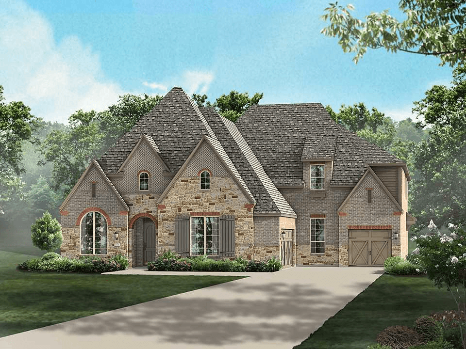 Single Family for Sale at Overlook At Stonewall Estates - Plan 618 8118 Juliet Hill San Antonio, Texas 78256 United States